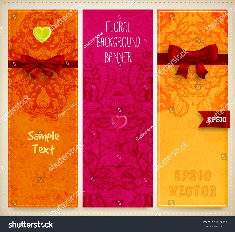 Wedding Invitation Card Valentines Day Designs Stock Vector (2018 ...