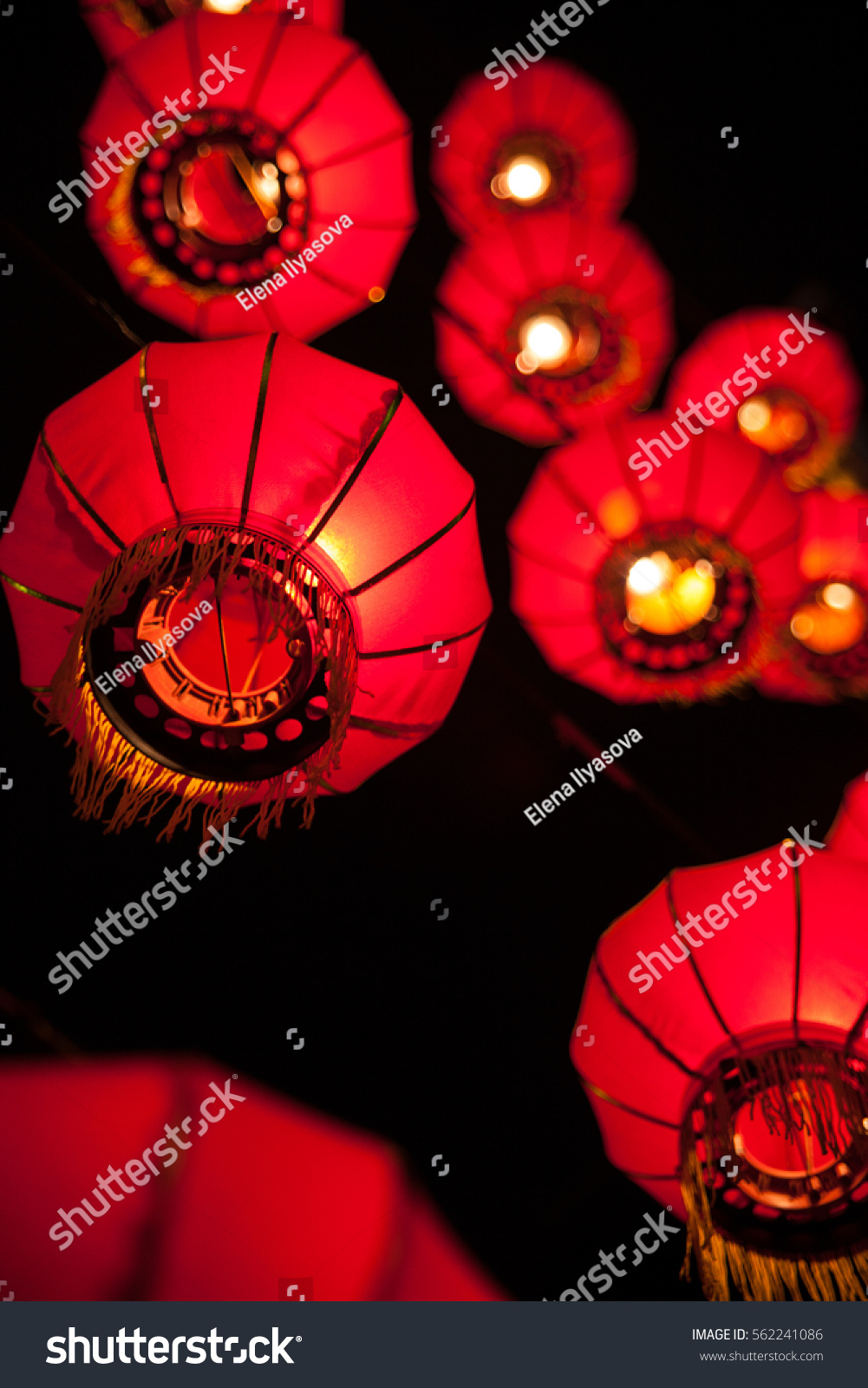 Happy Chinese New Year Concept Traditional Stock Photo Royalty Free