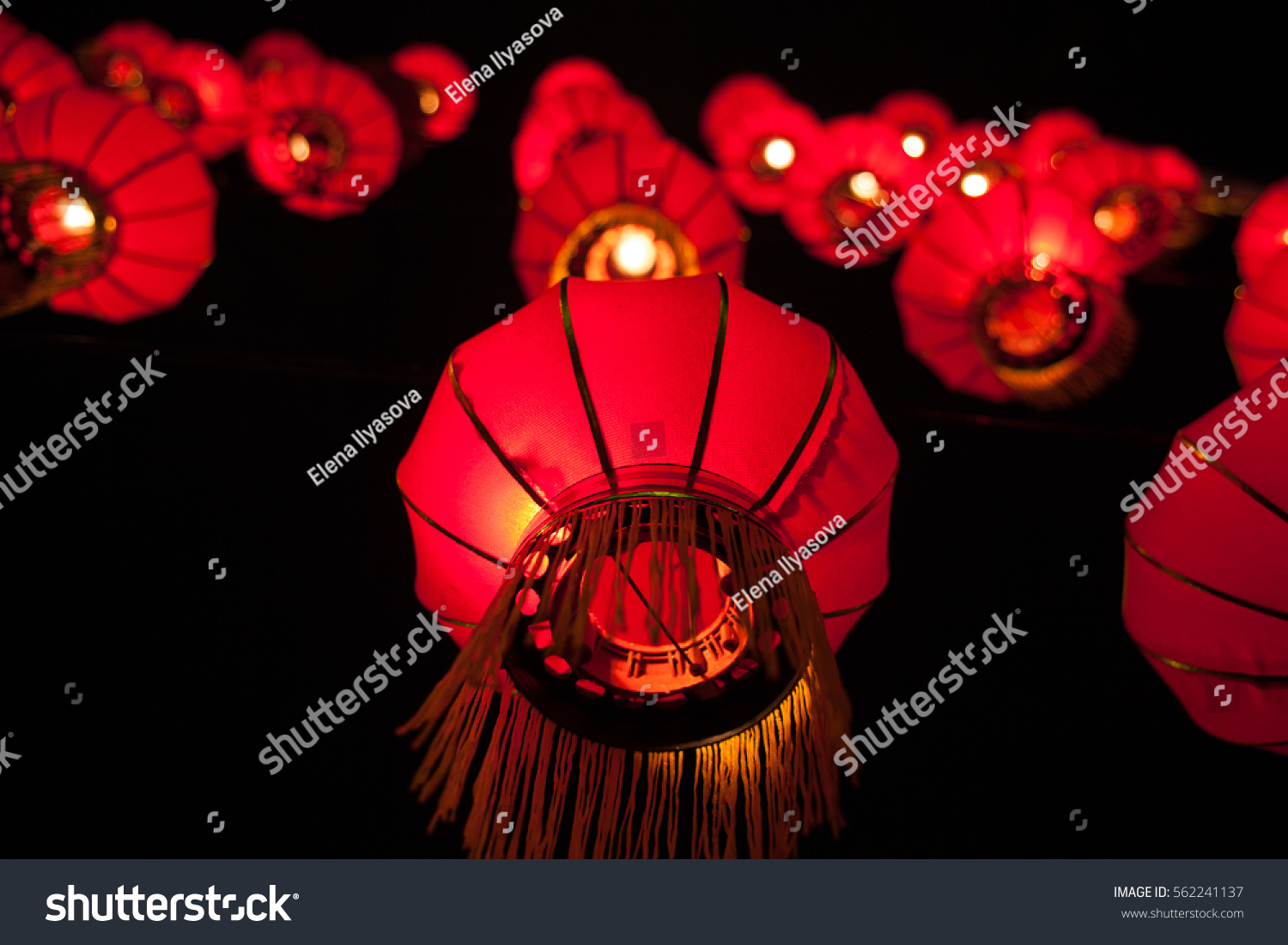 Happy Chinese New Year Concept Traditional Stock Photo Image