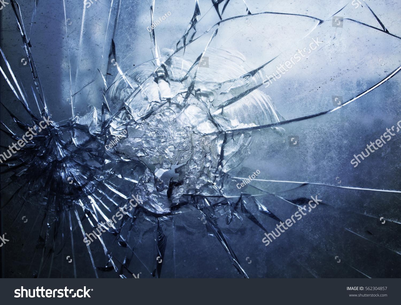 Broken Glass Vector