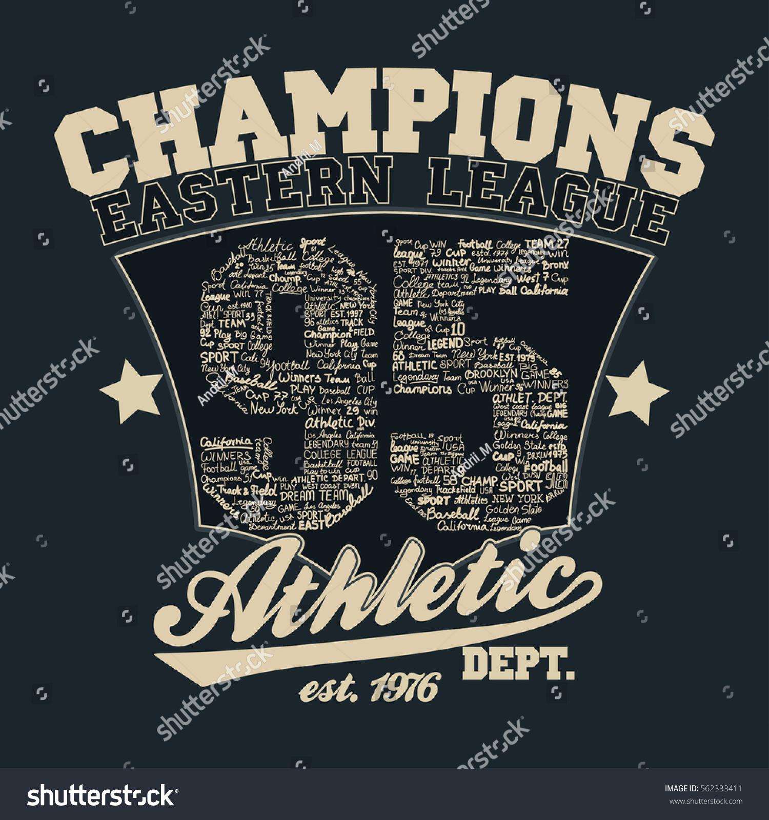 5d463d810 Los Angeles Athletics typography stamp, California t-shirt vector emblem  graphics, vintage sport wear tee print design - Vector