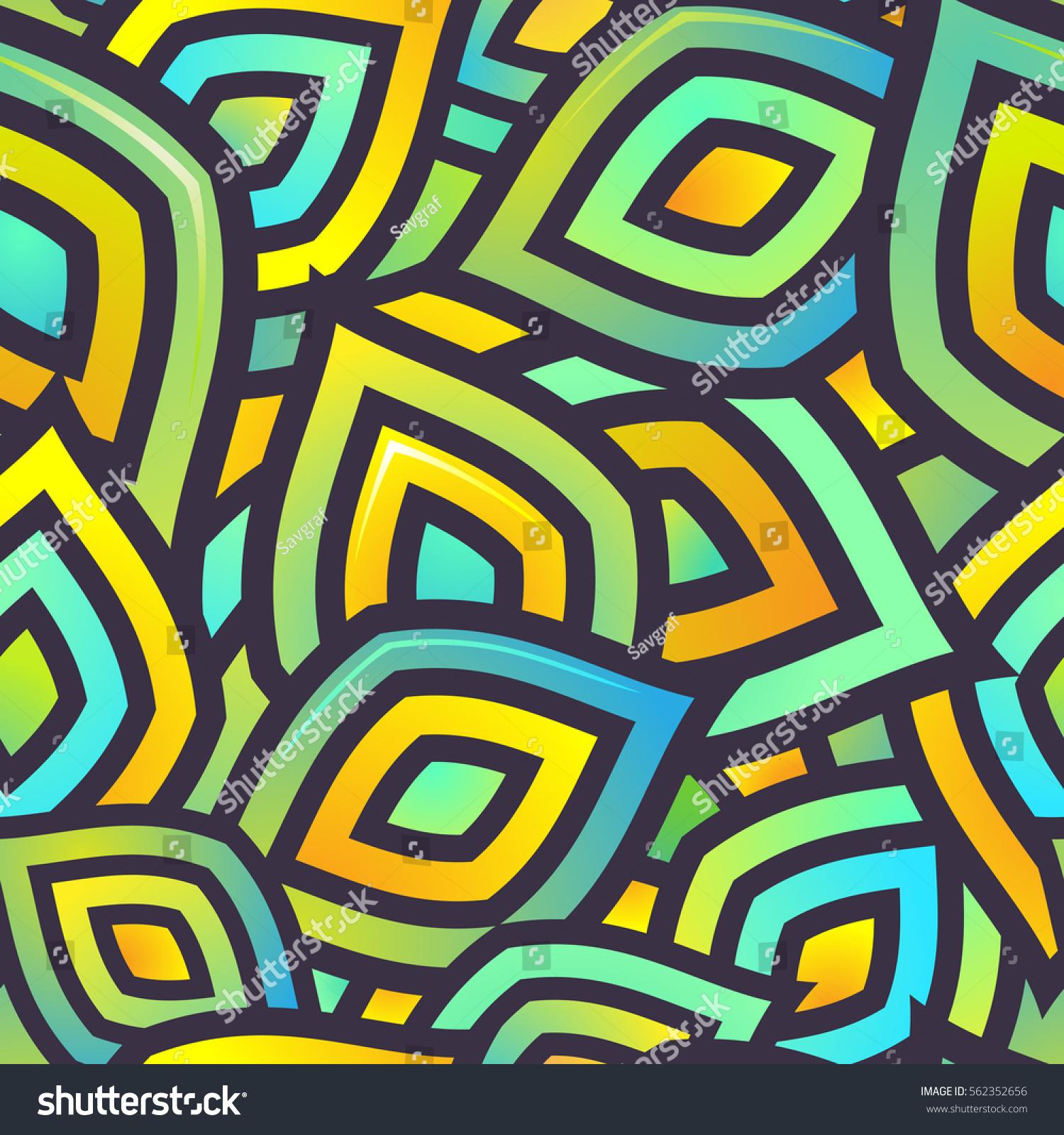 Seamless Vector Pattern Textile Design Mix Stock Vector (Royalty ...