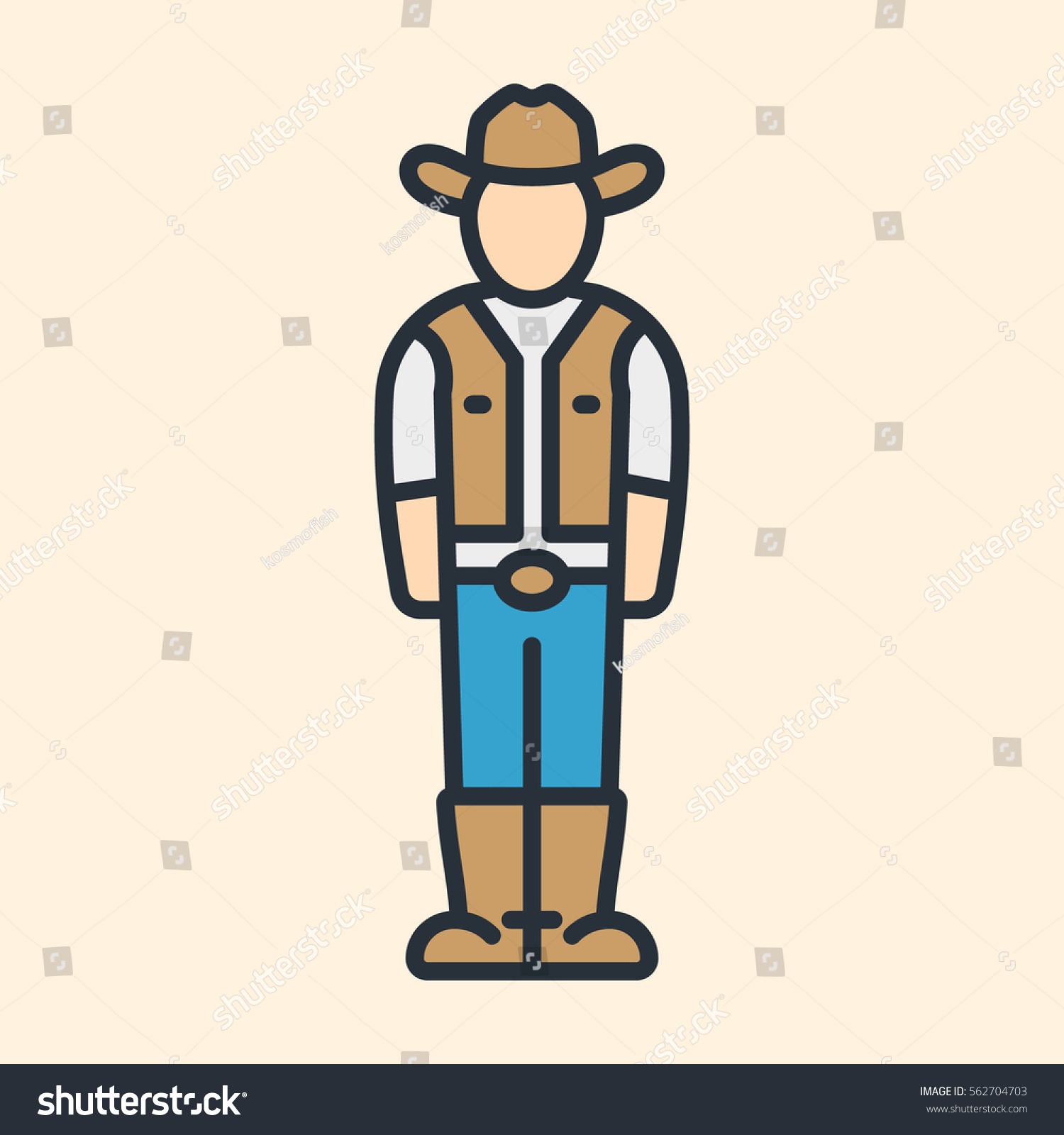 Western Cowboy Character Hat Boots Minimal Stock Vector. Dental Signs. Snake Signs Of Stroke. Wing Signs Of Stroke. Atmosphere Signs Of Stroke