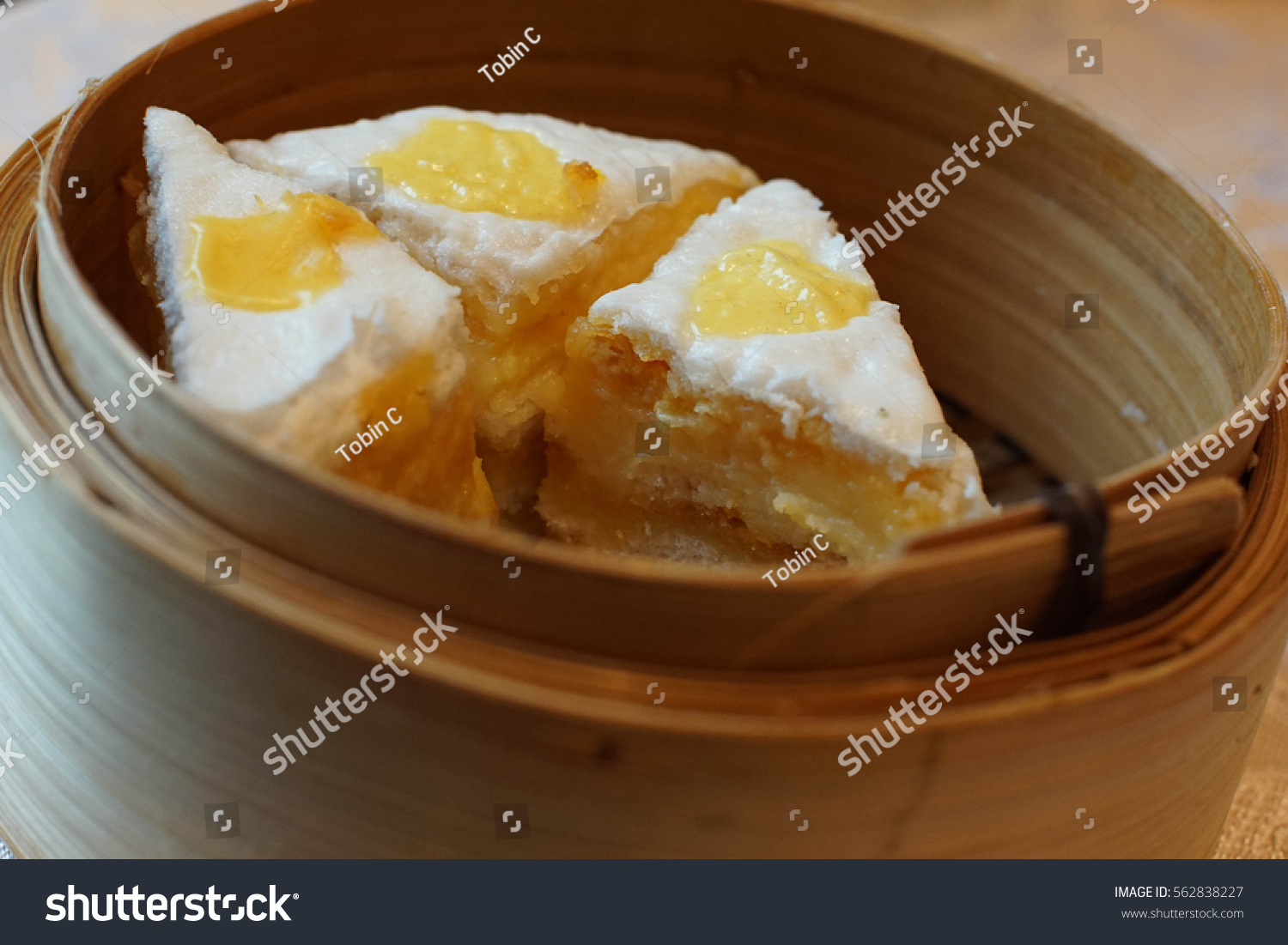 dim sum dessert thousand layer stock photo 562838227