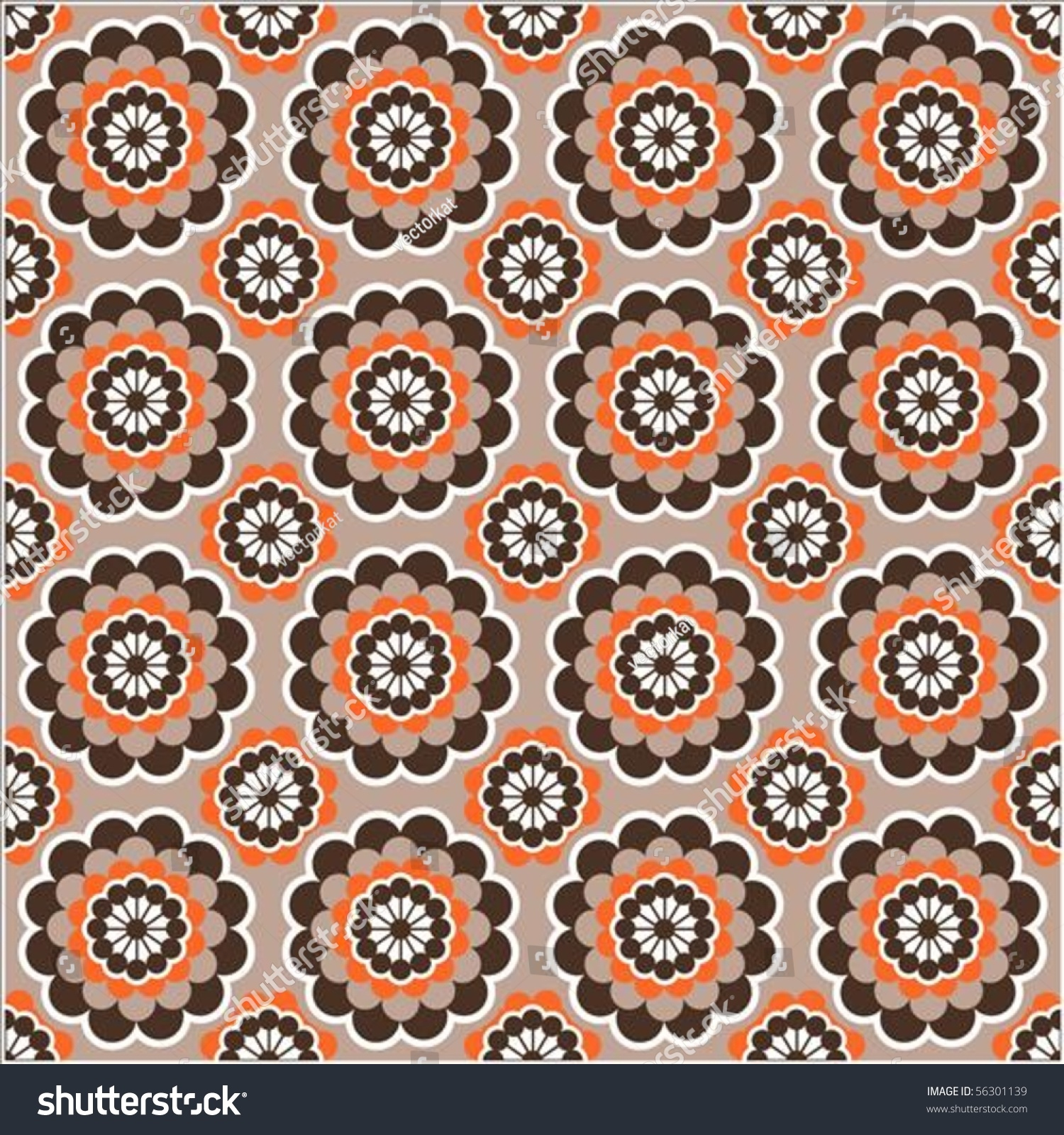Thanksgiving Themed Pictures Stock Vector Repeating Thanksgiving Themed Vector Background Pattern
