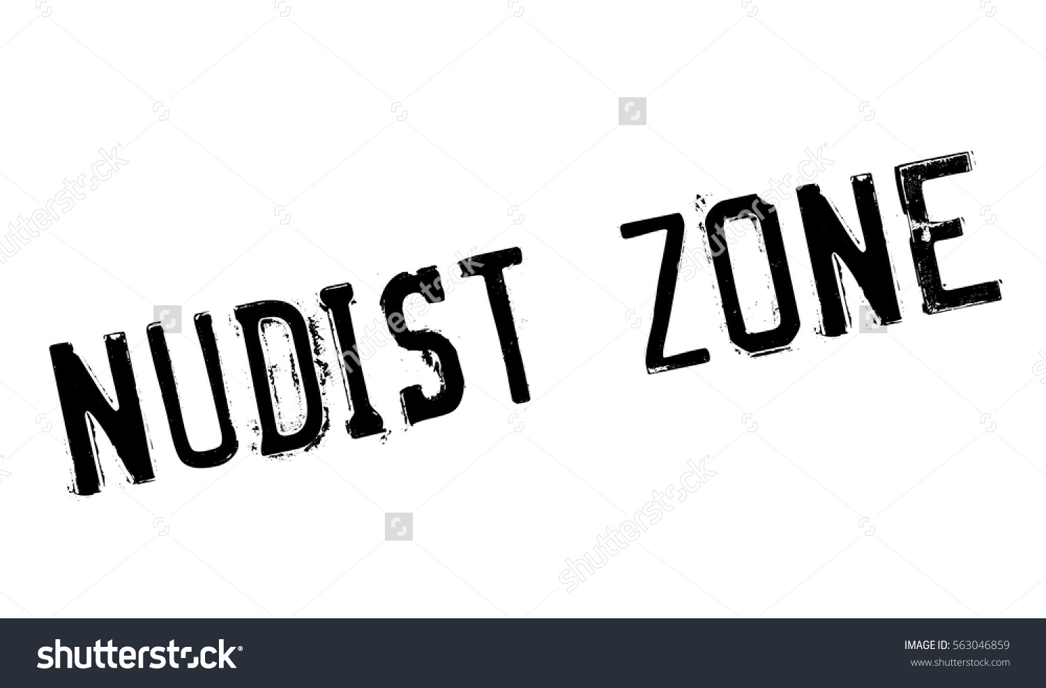 Nudist Zone Nudist Zone rubber stamp. Grunge design with dust scratches. Effects can be  easily removed