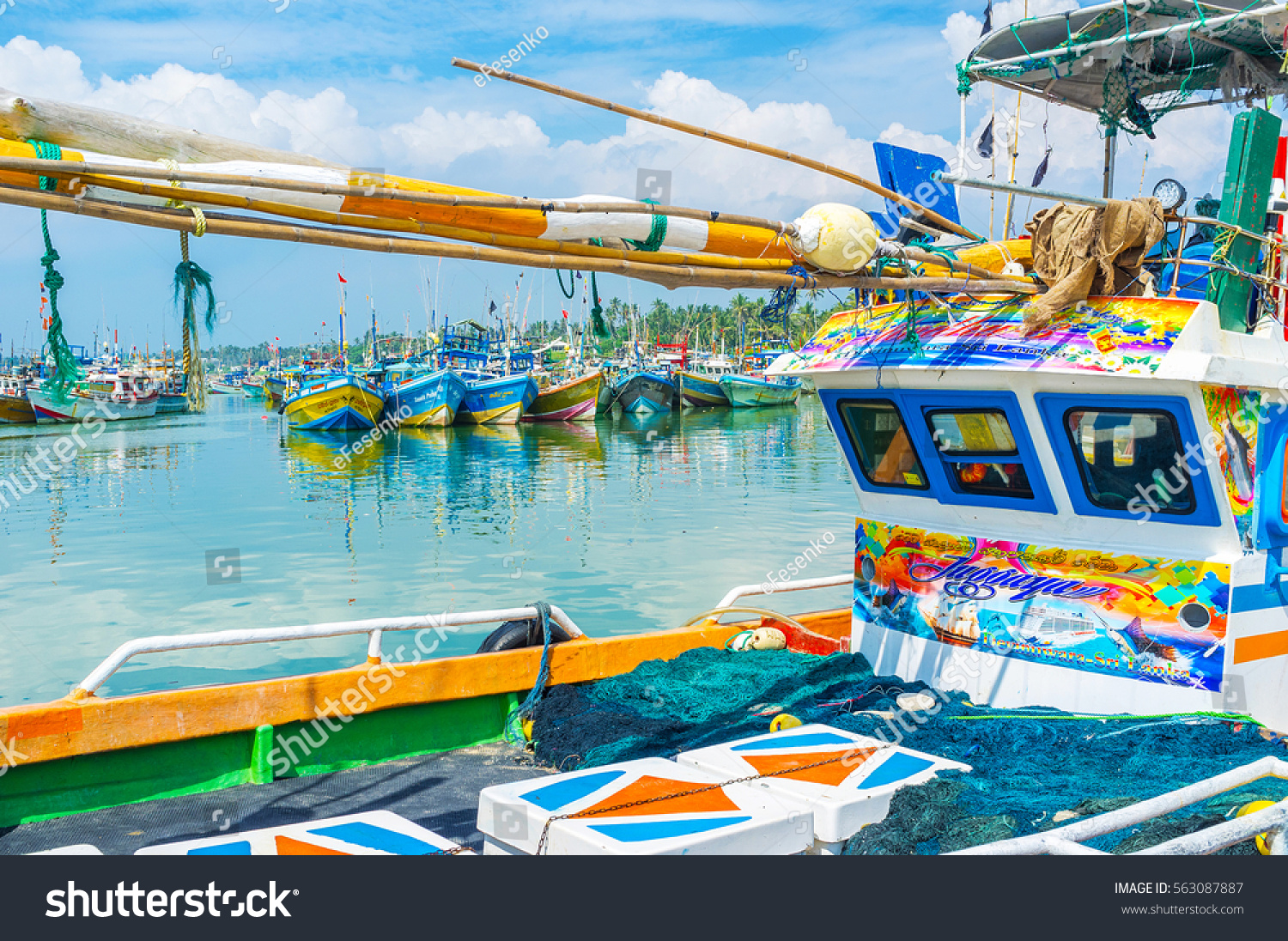 the colorful harbor in - photo #23