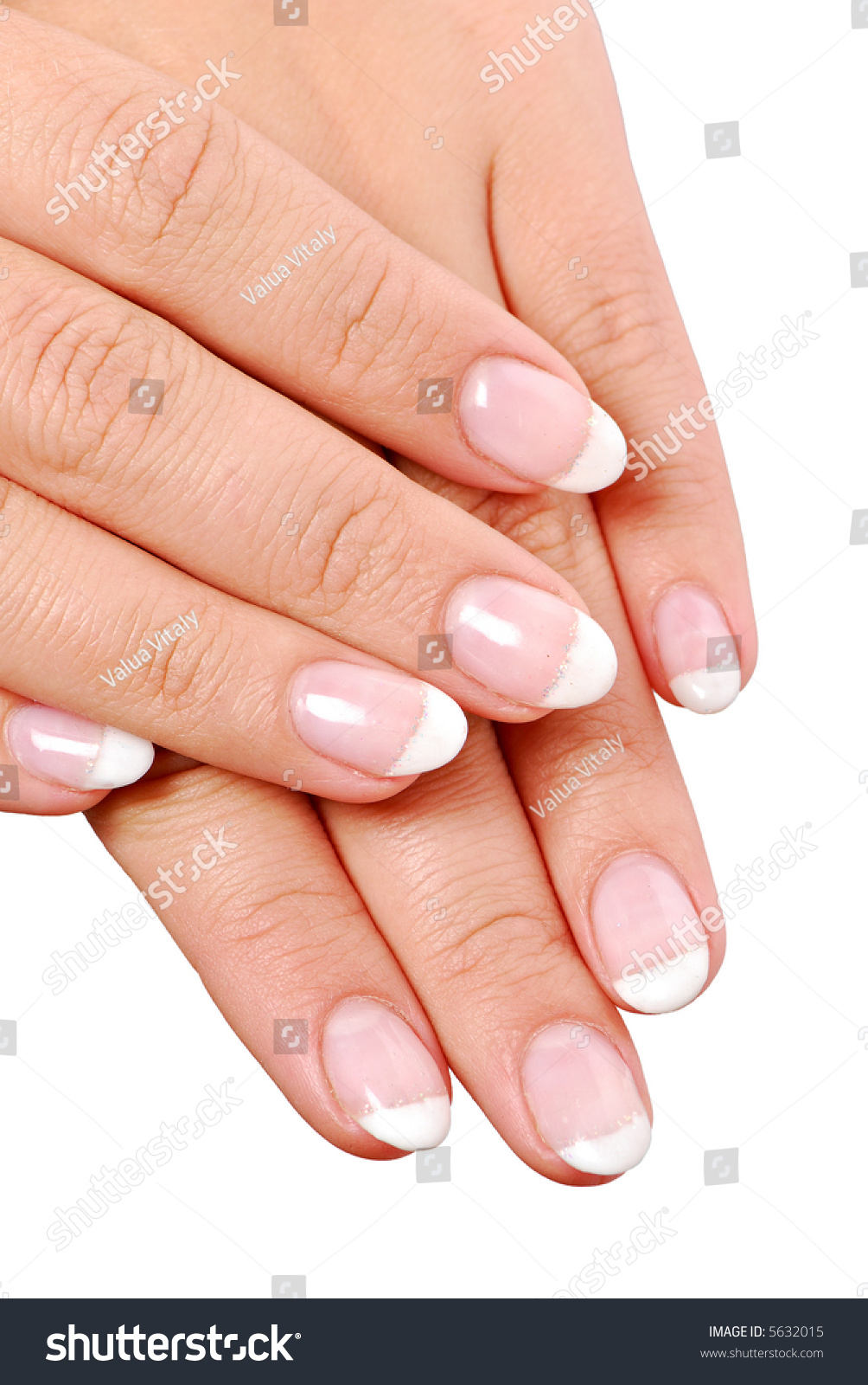 Beautiful Shape Of Women Fingernails Stock Photo 5632015