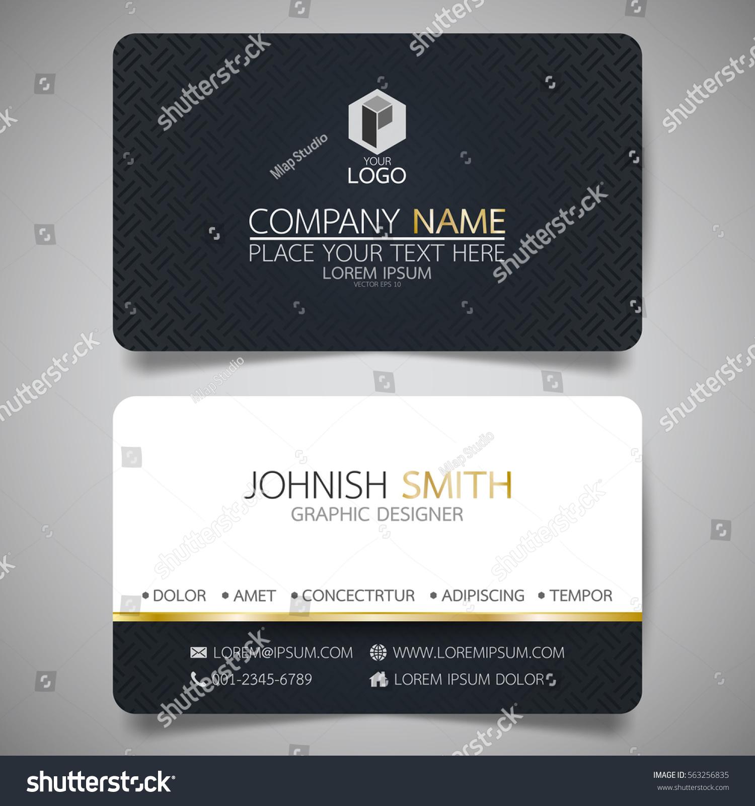 Black modern creative business card name em vetor stock 563256835 black modern creative business card name em vetor stock 563256835 shutterstock reheart Images