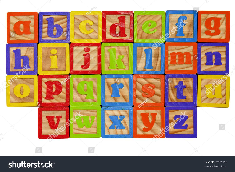 Block Letters Alphabet Lower Case Traffic Club