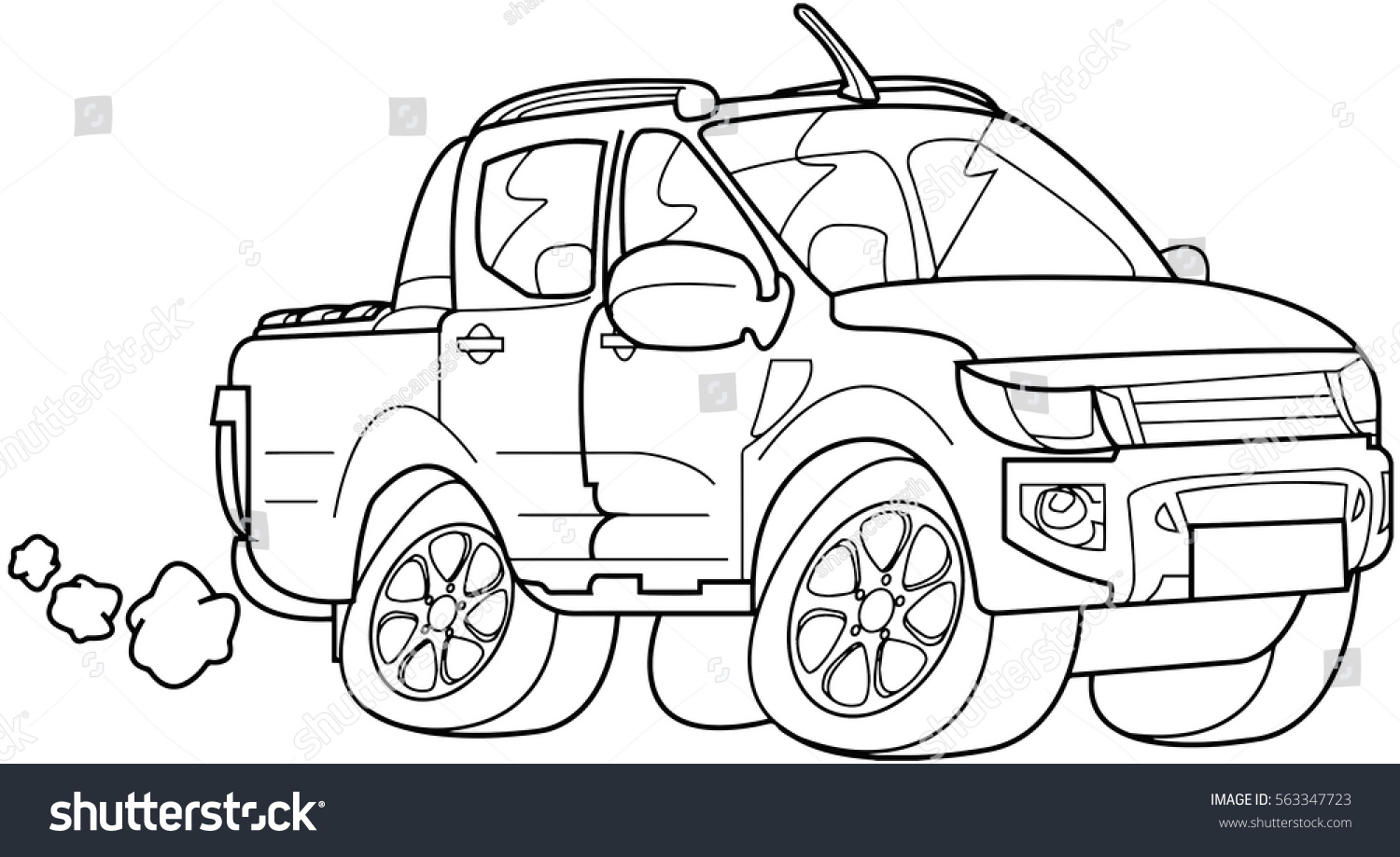Childrens educational coloring activity book - Car Outline Vector Suitable For Kids Activity Such As Coloring Book Arts Class Education