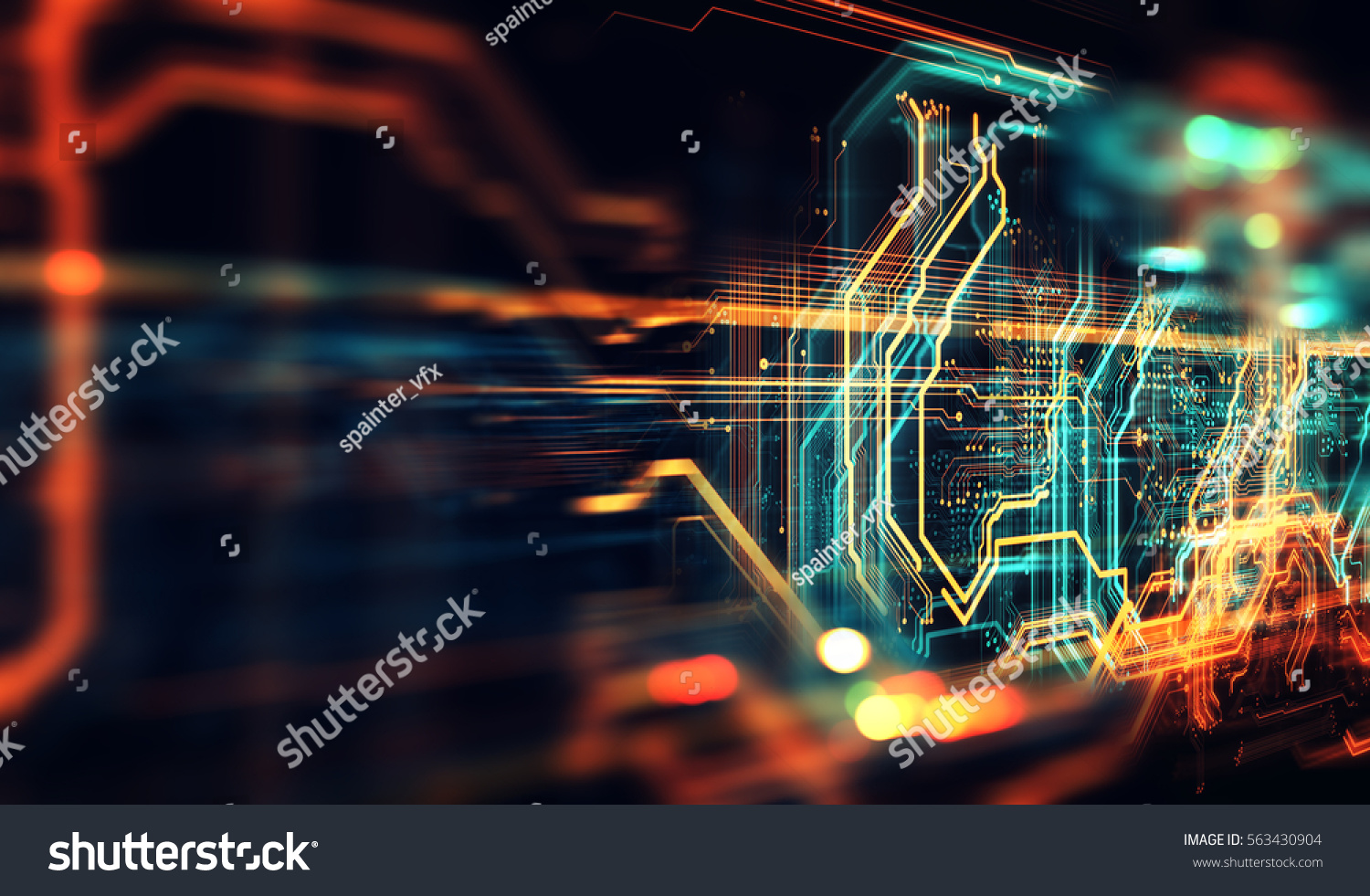 Circuit Board Background Can Be Used Stock Illustration 563430904 Pics Photos Desktop Wallpapers Printed Pictures As Digital Dynamic Wallpaper Technology 3d