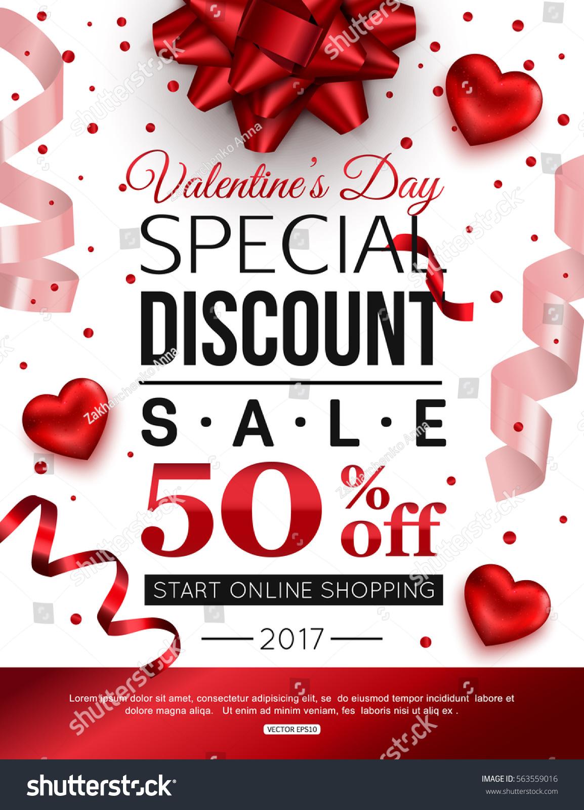 Valentine's day online shopping