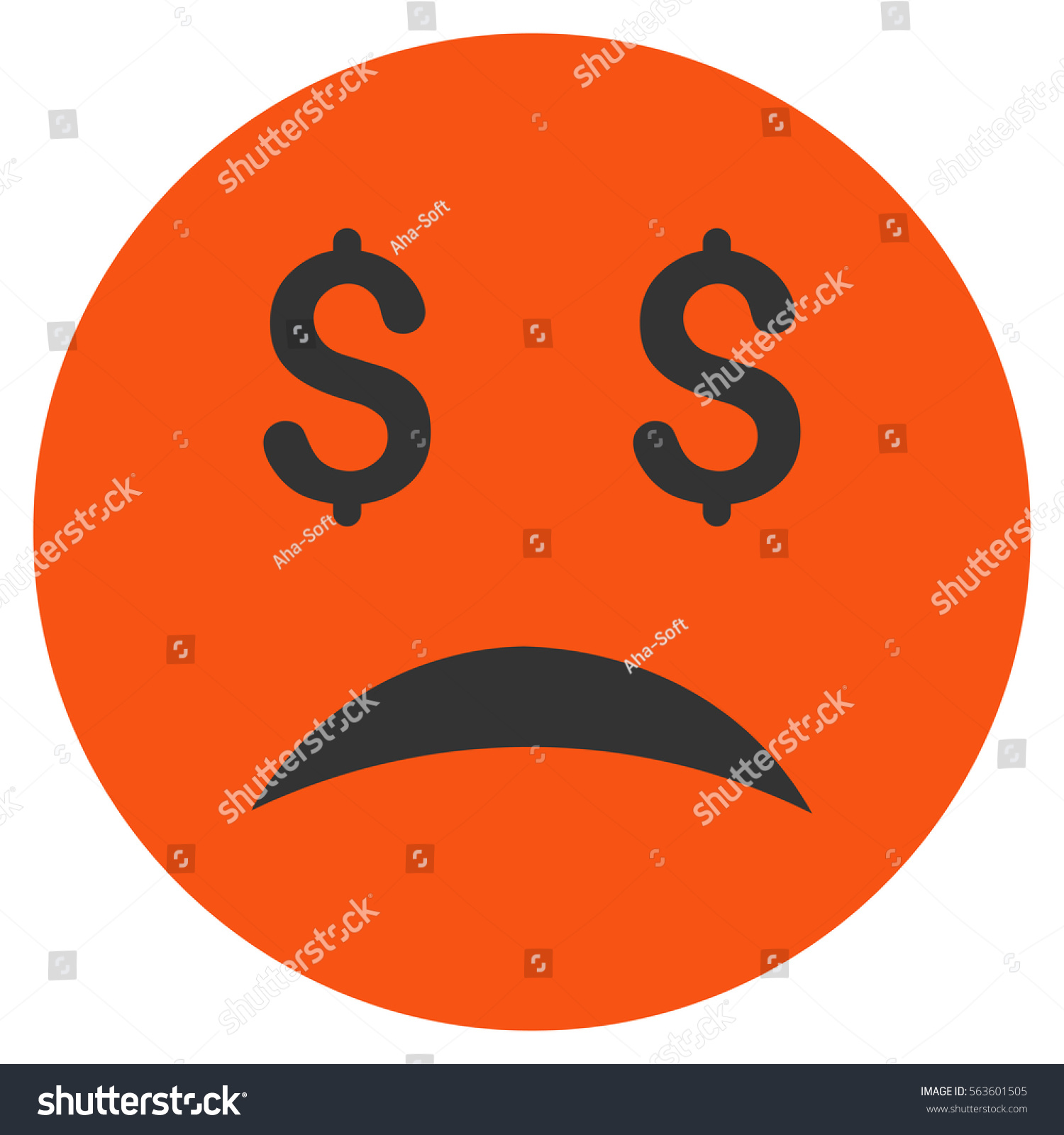 Bankrupt frowning face raster pictogram style stock illustration bankrupt frowning face raster pictogram style is flat graphic symbol buycottarizona Gallery