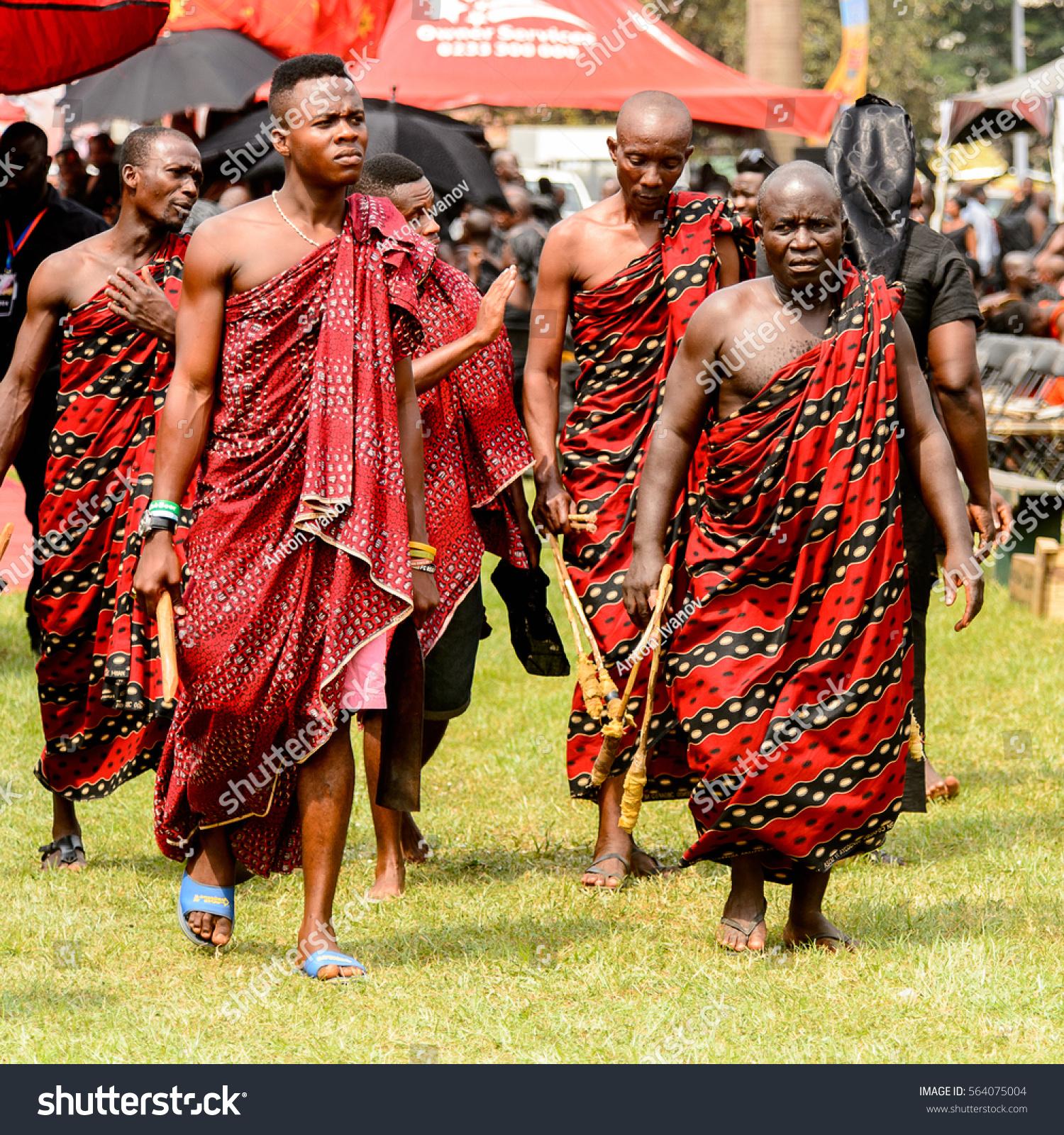 KUMASI GHANA JAN 16 2017 Unidentified Stock Photo (Edit Now