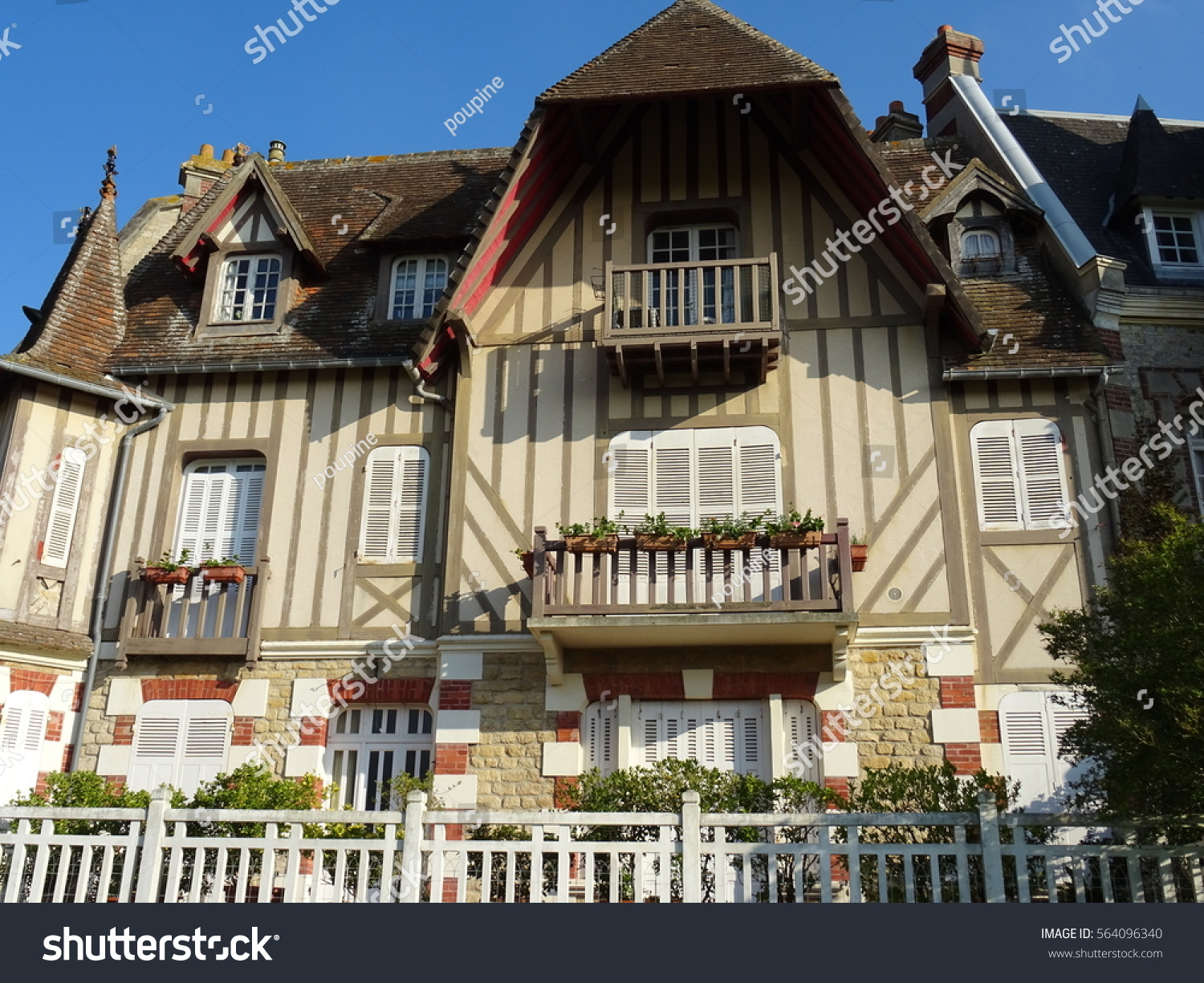 Old Country House Normandy France Stock Photo Edit Now 564096340