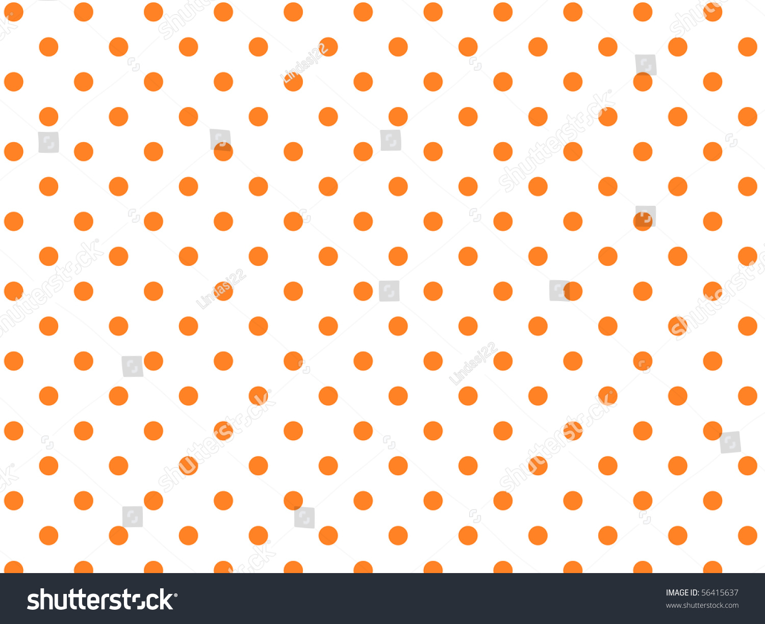 Jpg, White Background With Orange Polka Dots. Stock Photo ...