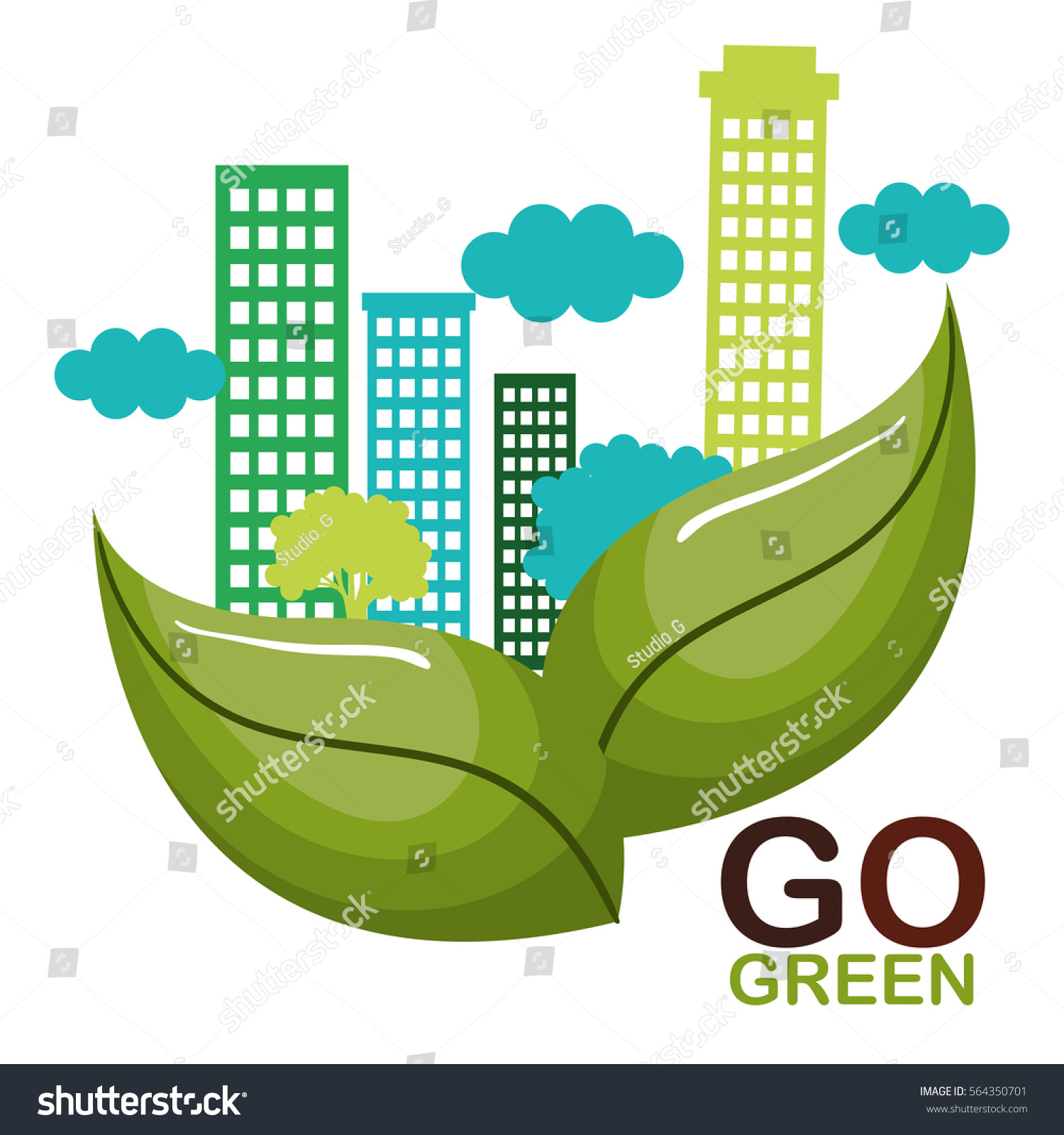Contoh Gambar Poster Go Green - AR Production