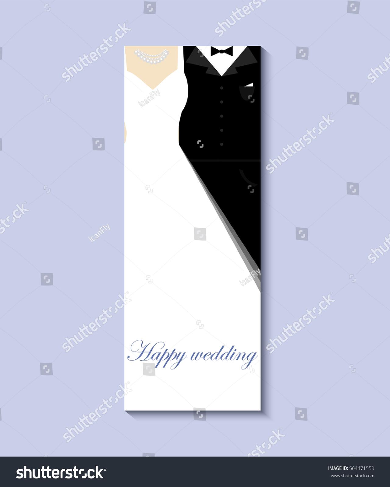 Bride Groom Vector 10 Eps Greeting Stock Vector Royalty Free