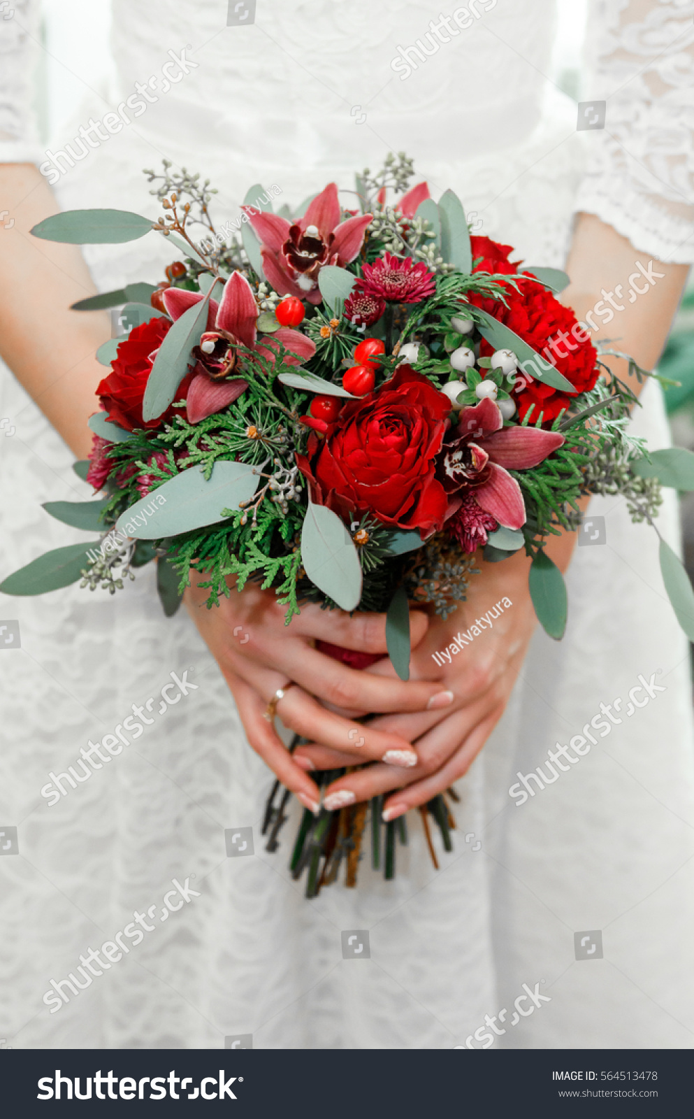 Brides bouquet real flowers bride bridal stock photo edit now brides bouquet real flowers of the bride bridal bouquet wedding decoration wedding izmirmasajfo