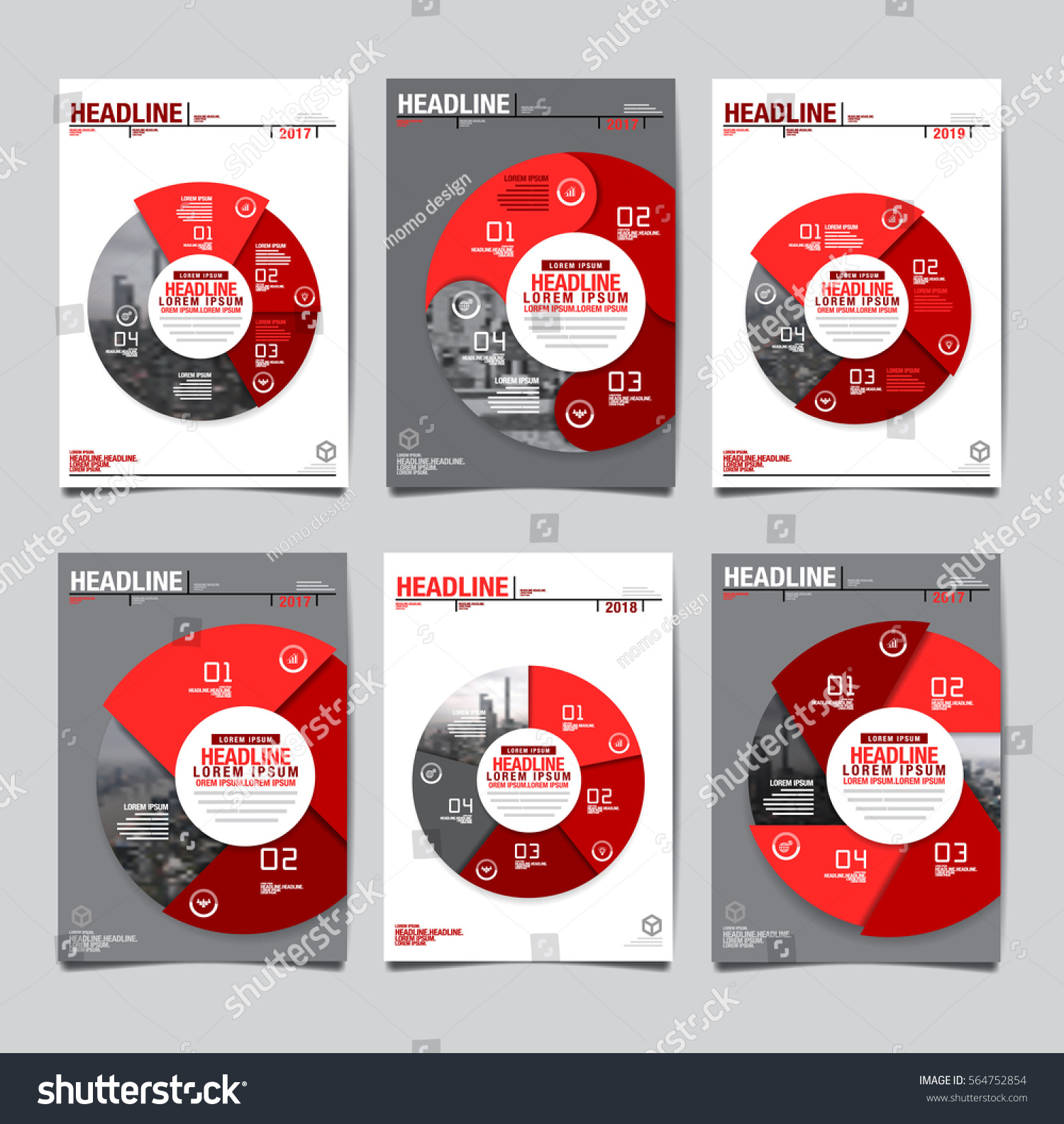 Annual Report 20172018future Business Template Layout Stock ...