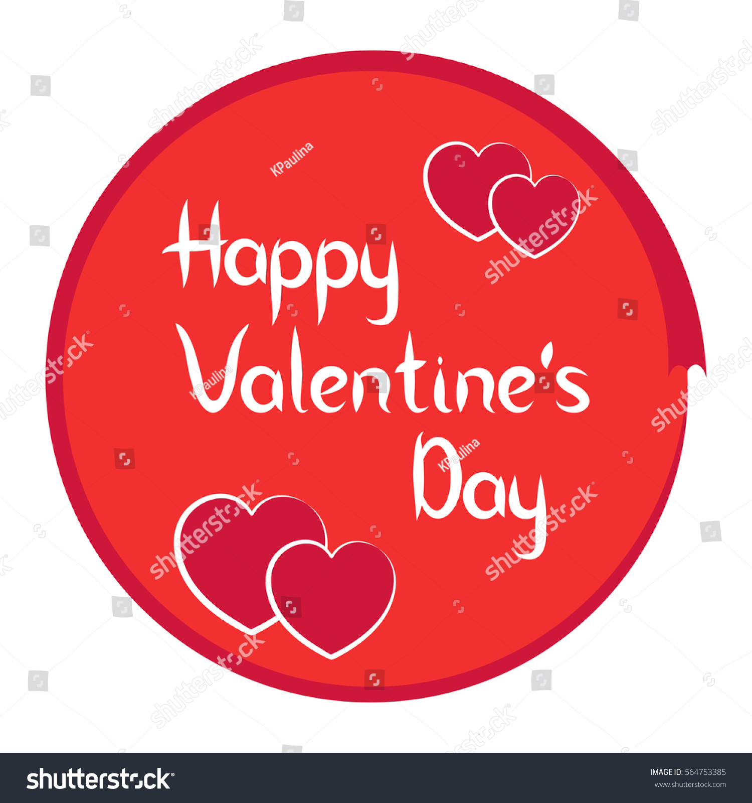 happy valentines day greeting cards vector icon