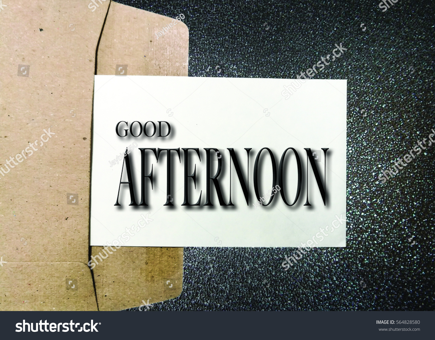 Common English Greetings Expressions Phrases Good Stock Photo