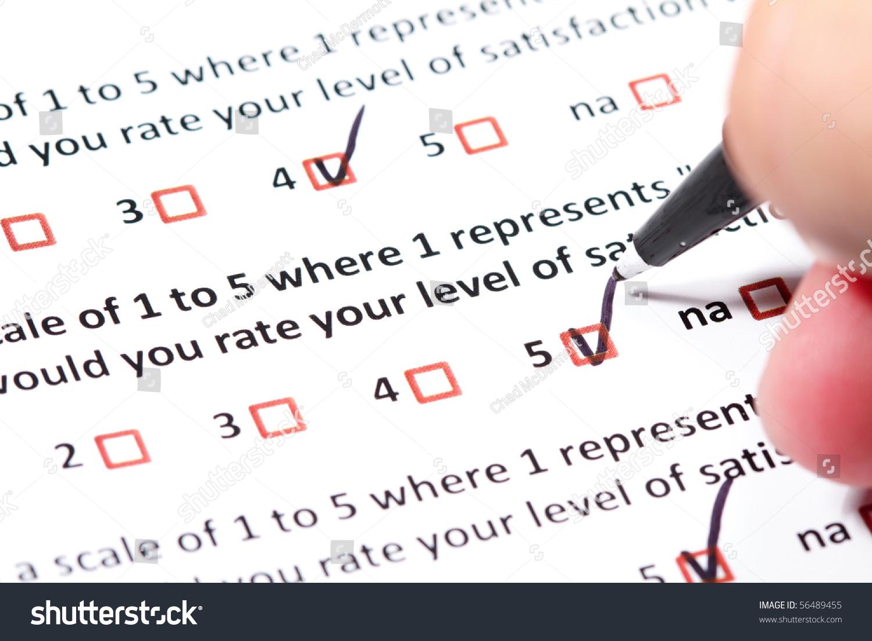 survey questionairre