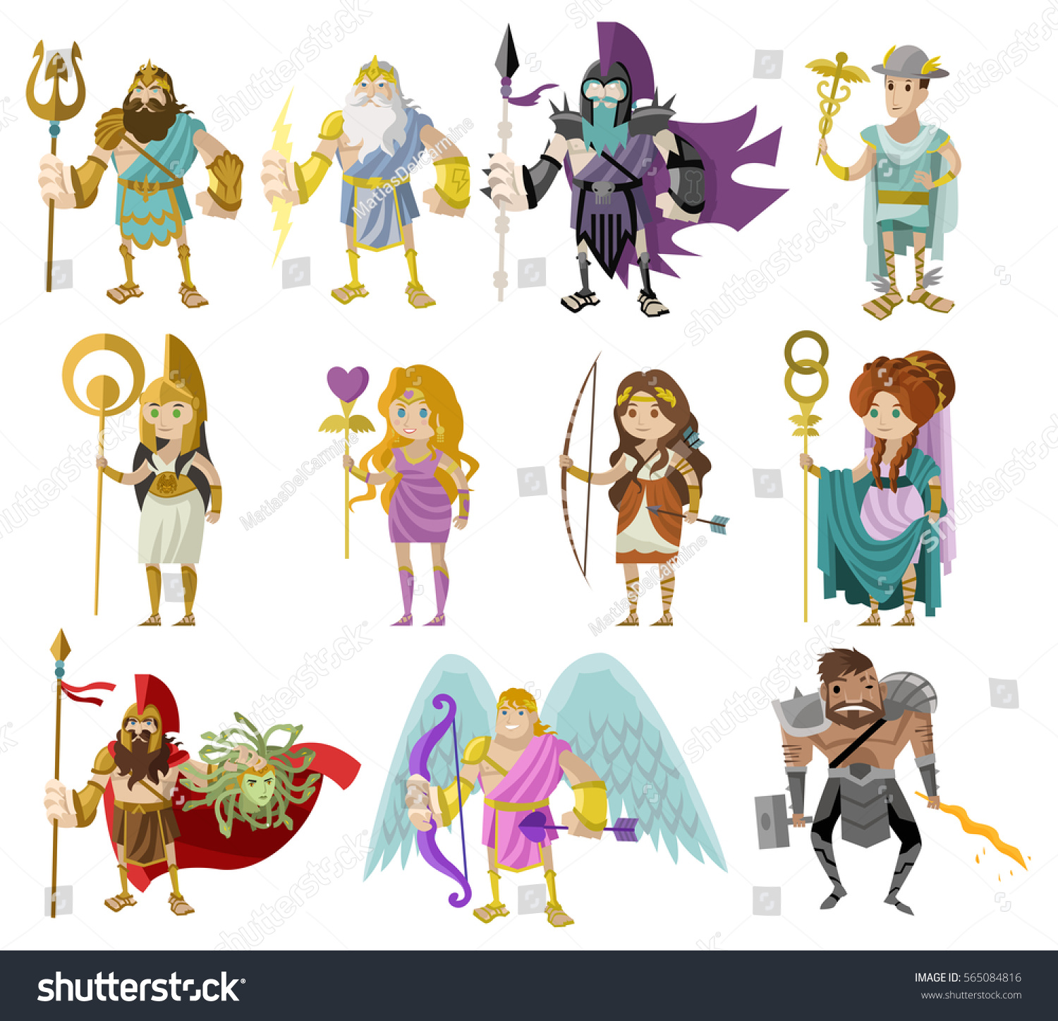 roman and greek gods Greek and roman gods here are the twelve olympian gods and a brief description of each the greeks and romans shared the same stories, but used different names.