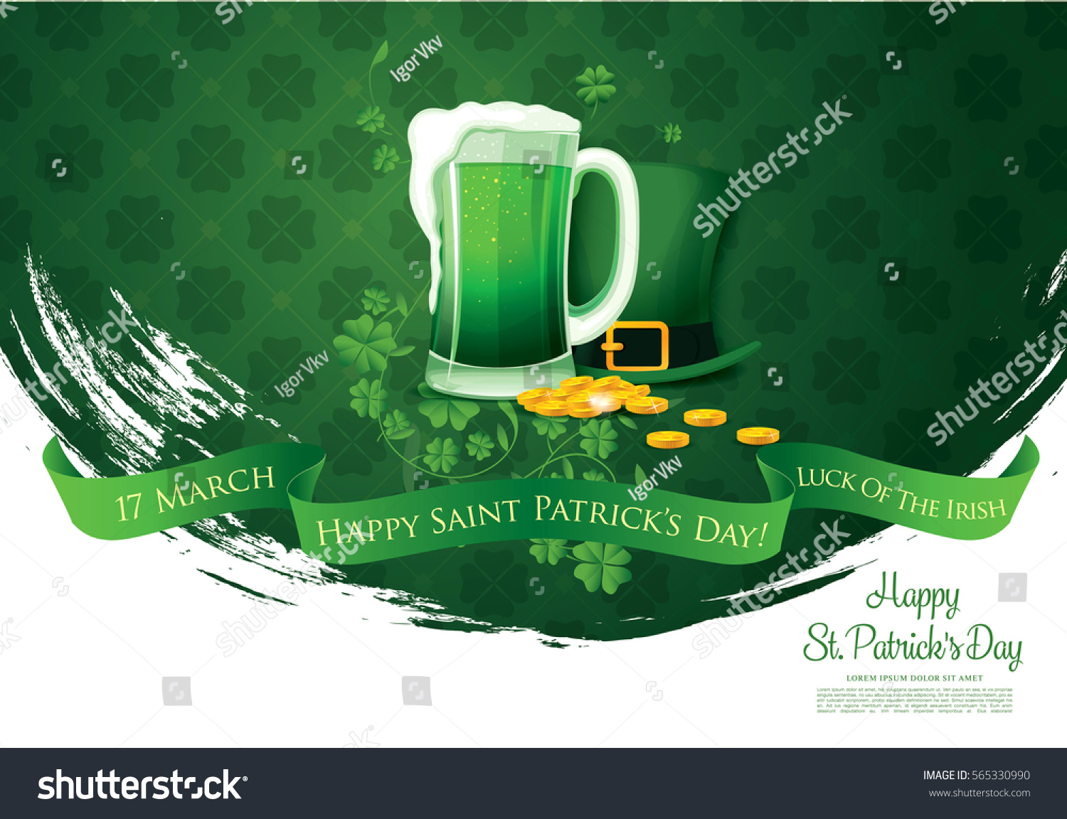 saint patrick s day Saint patrick's day celebrations include many traditions that are known to be relatively recent historically, but have endured through time because of.