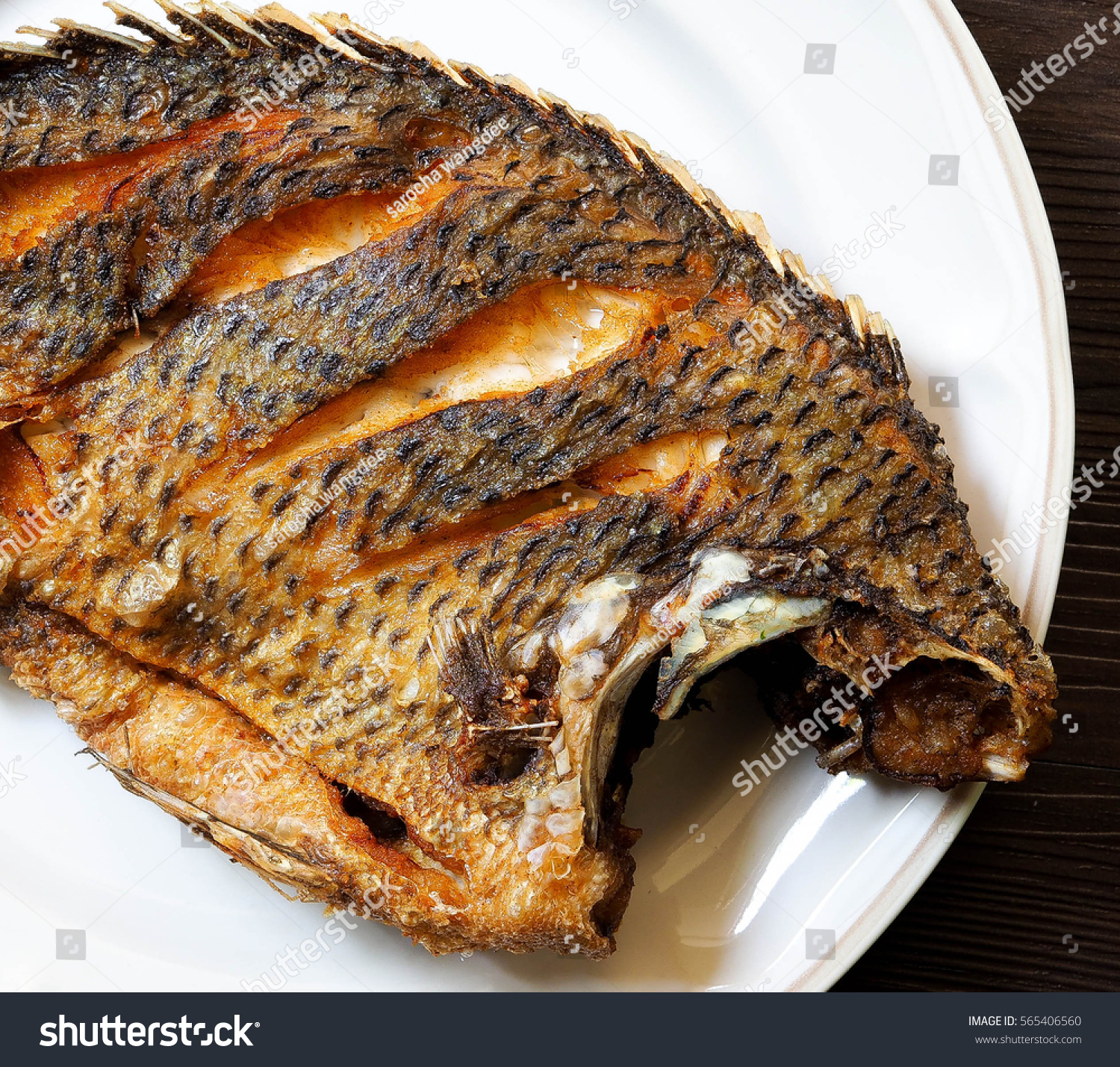 Deep fried tilapia for Deep fried whole fish