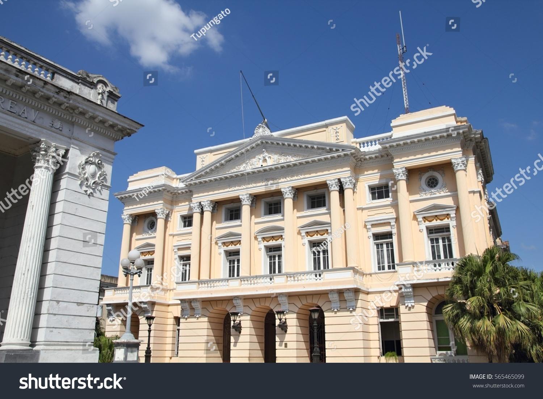stock-photo-santiago-de-cuba-governmenta