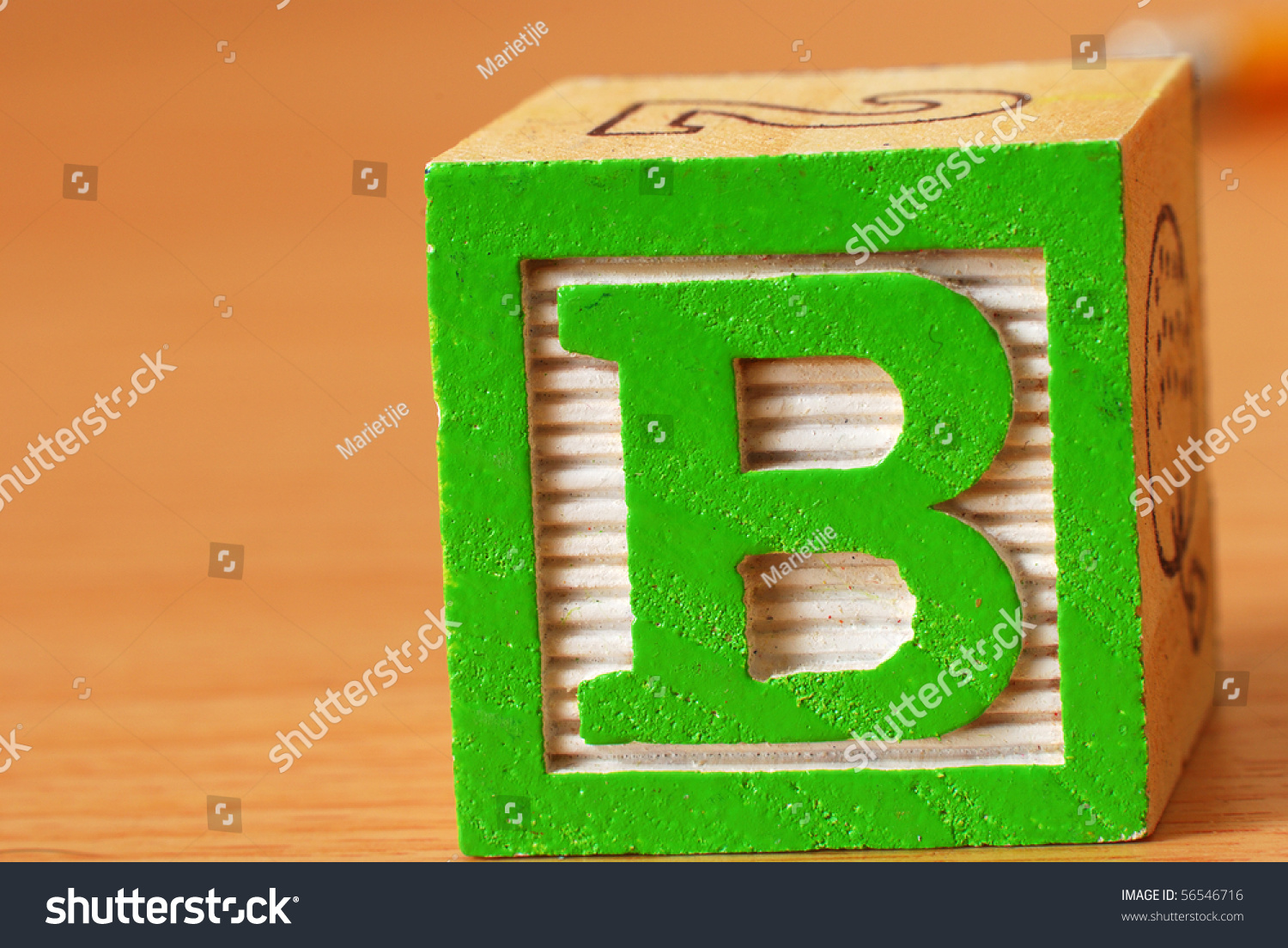 block letter b alphabet block letter b stock photo 56546716 20628 | stock photo alphabet block with the letter b 56546716