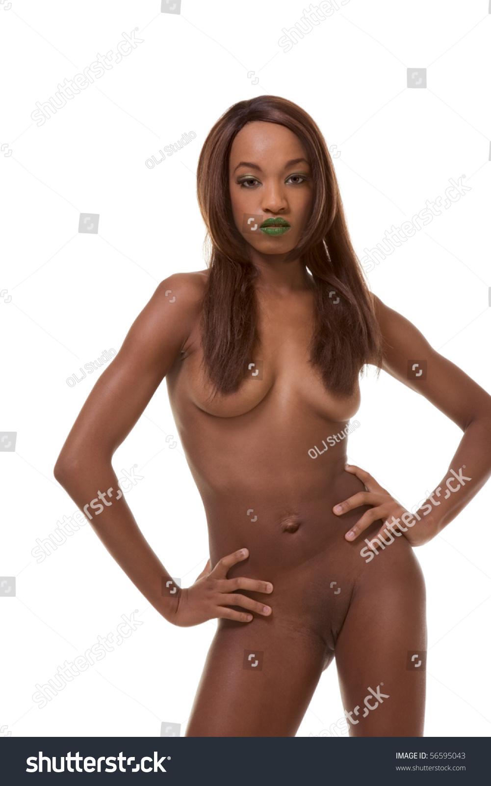 Black American Nude 68
