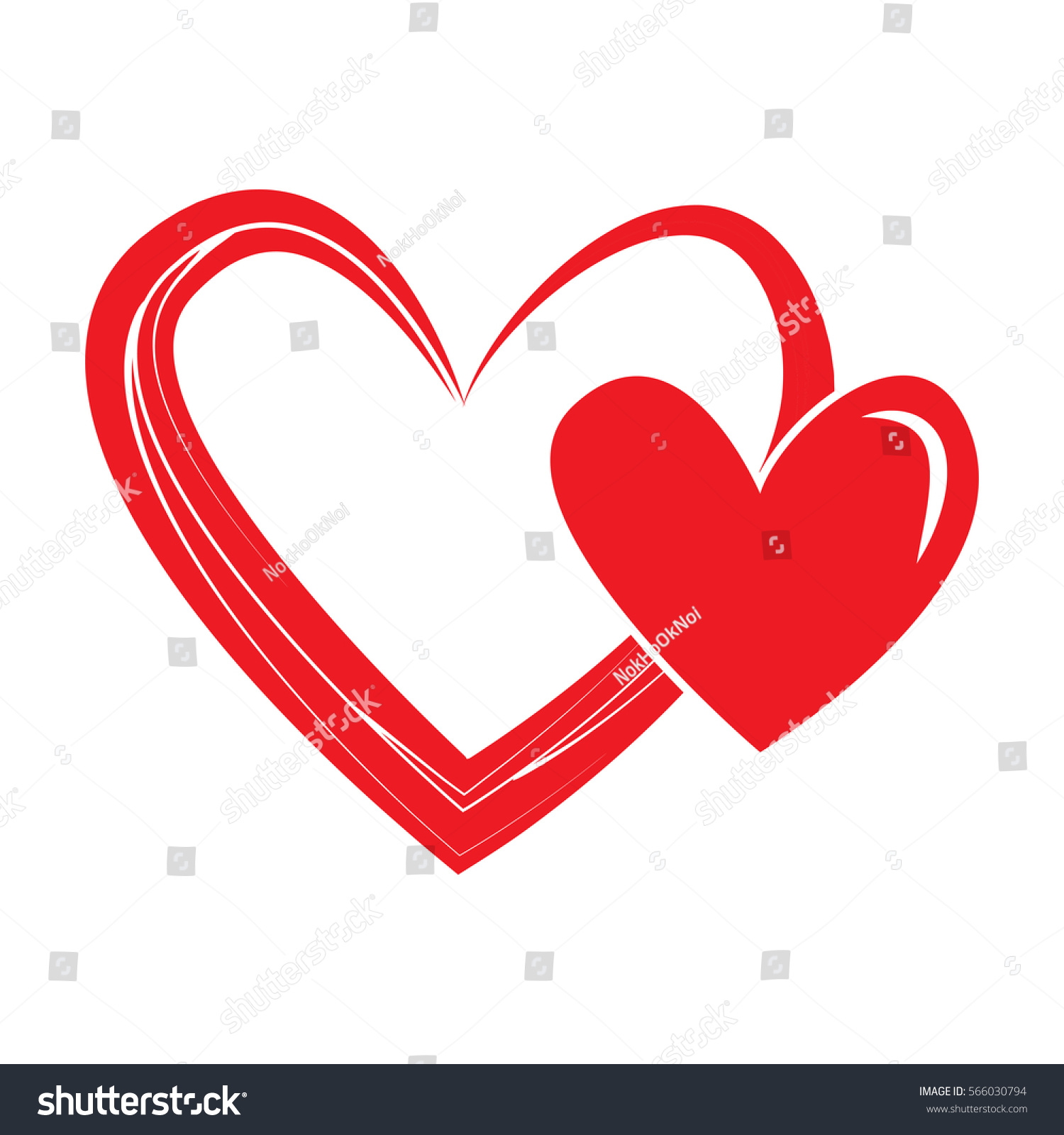 Heart shape design love symbols valentines stock vector 566030794 heart shape design for love symbols valentines day buycottarizona Gallery