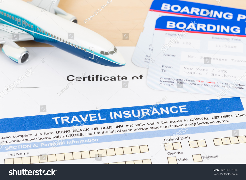 Travel insurance application form plane model stock photo 566112316 travel insurance application form with plane model and boarding pass altavistaventures Choice Image