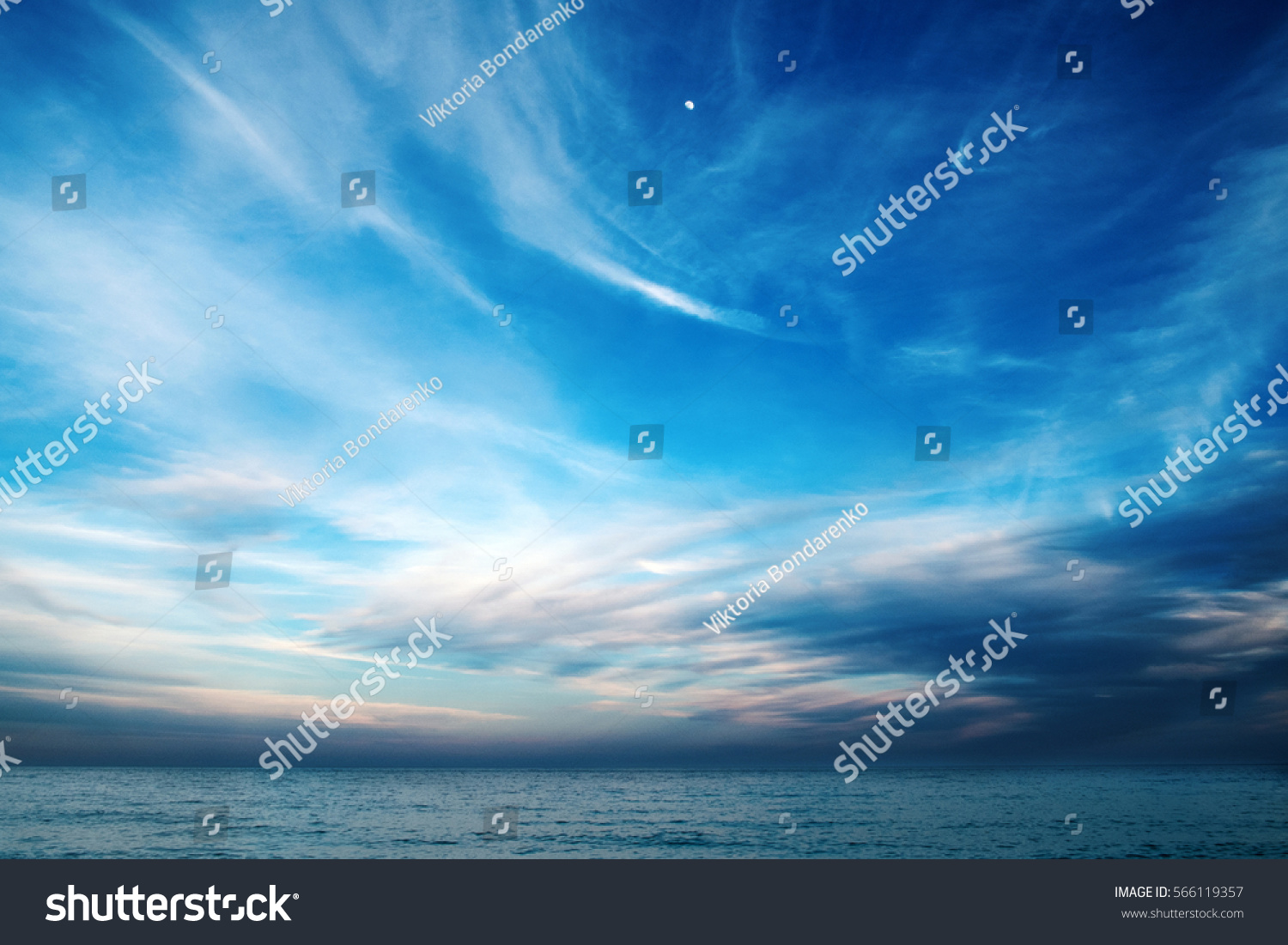 blue sky clouds over sea wallpapers stock photo (edit now)- shutterstock
