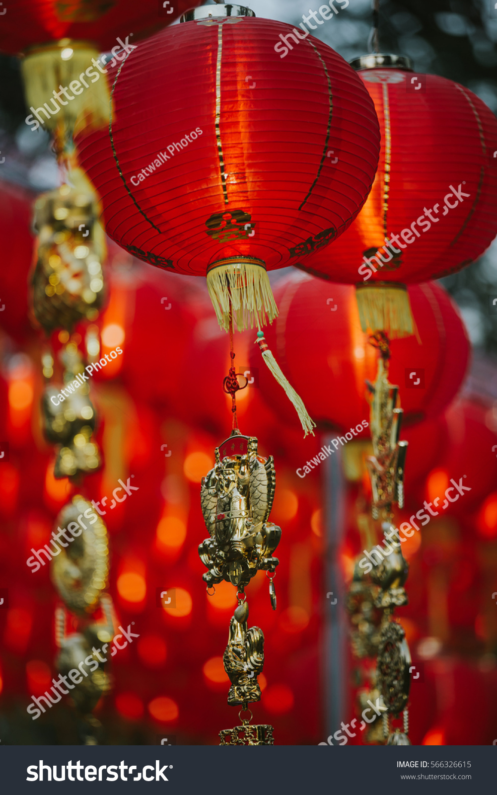 Chinese new year 2017 decorations stock photo 566326615 for Decoration 2017