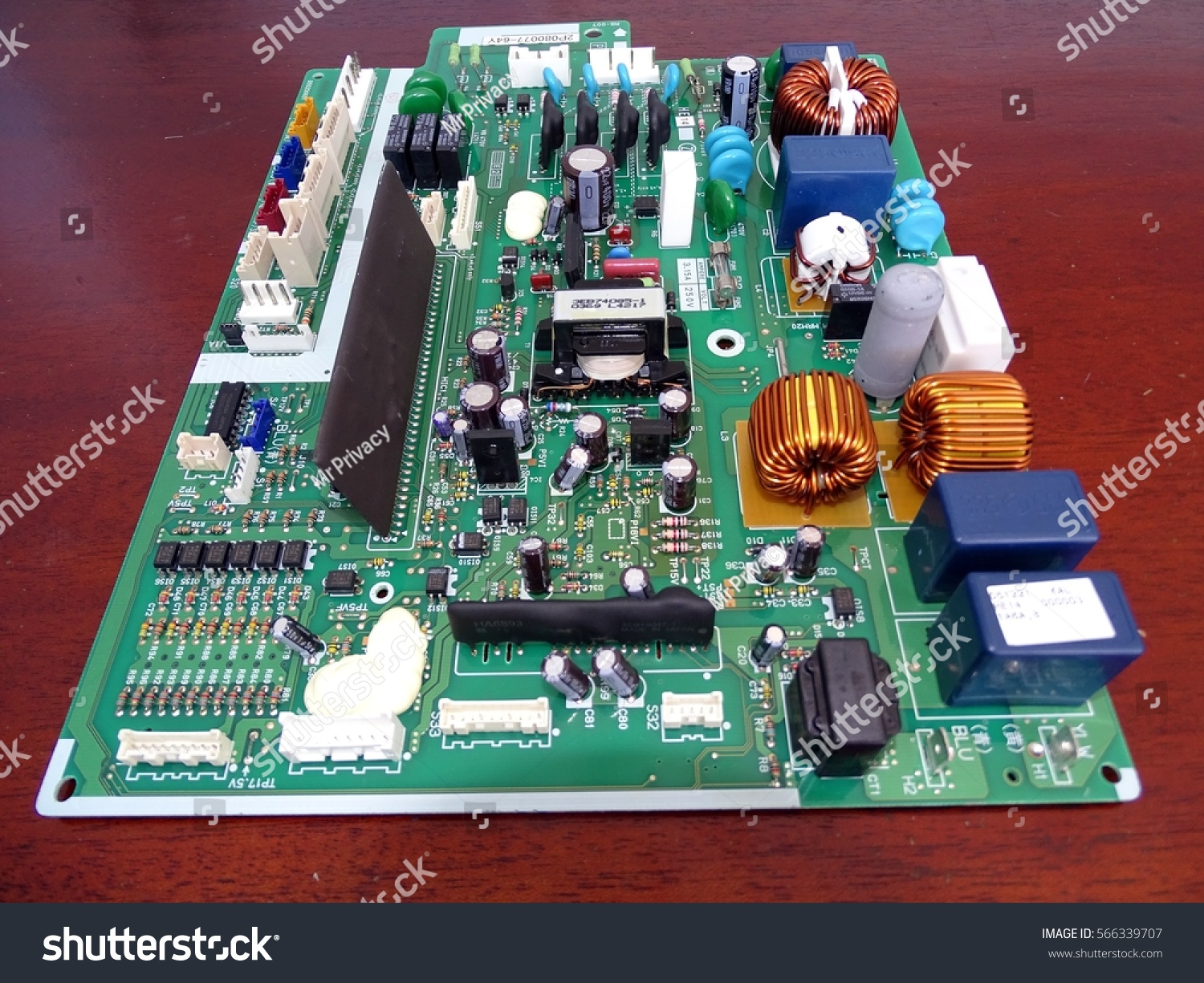 Airlie Beach Queensland January 28 2017 Stock Photo Edit Now Air Conditioner Circuit Board View Of A From
