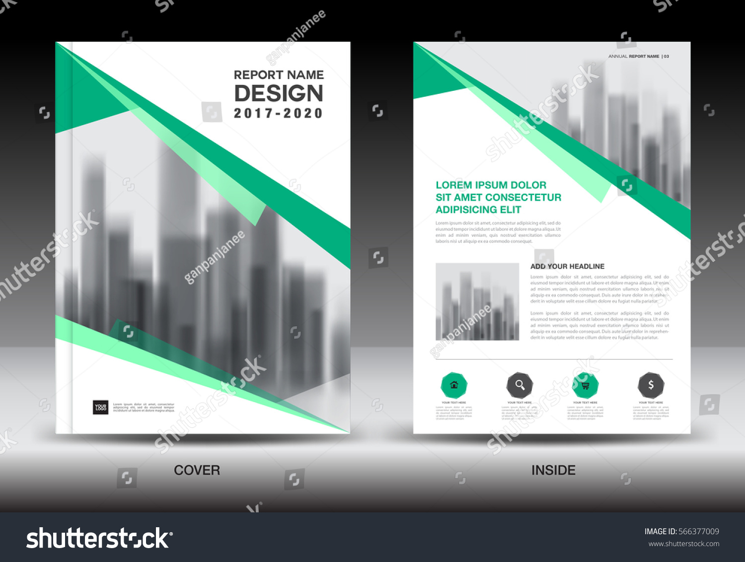annual report brochure flyer template green cover design annual report brochure flyer template green cover design business flyer template book