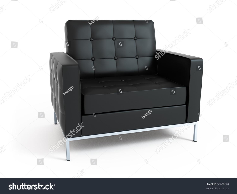 Isolated Furniture On White Background Stock Photo