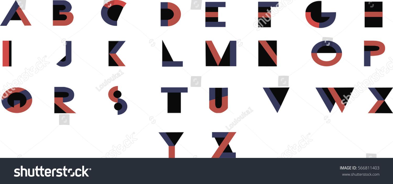 Bauhaus Font - Modern Vector Font