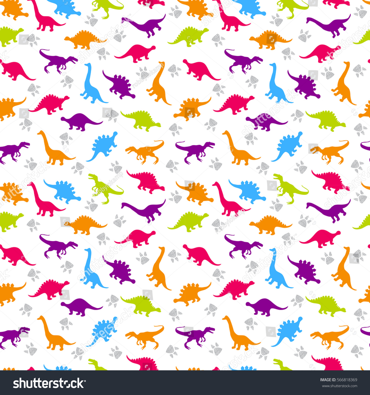 Cute kids pattern girls boys colorful stock vector 566818369 shutterstock - Colors for girls ...
