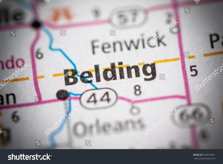 Belding Michigan Usa Stock Photo Edit Now 567015961 Shutterstock