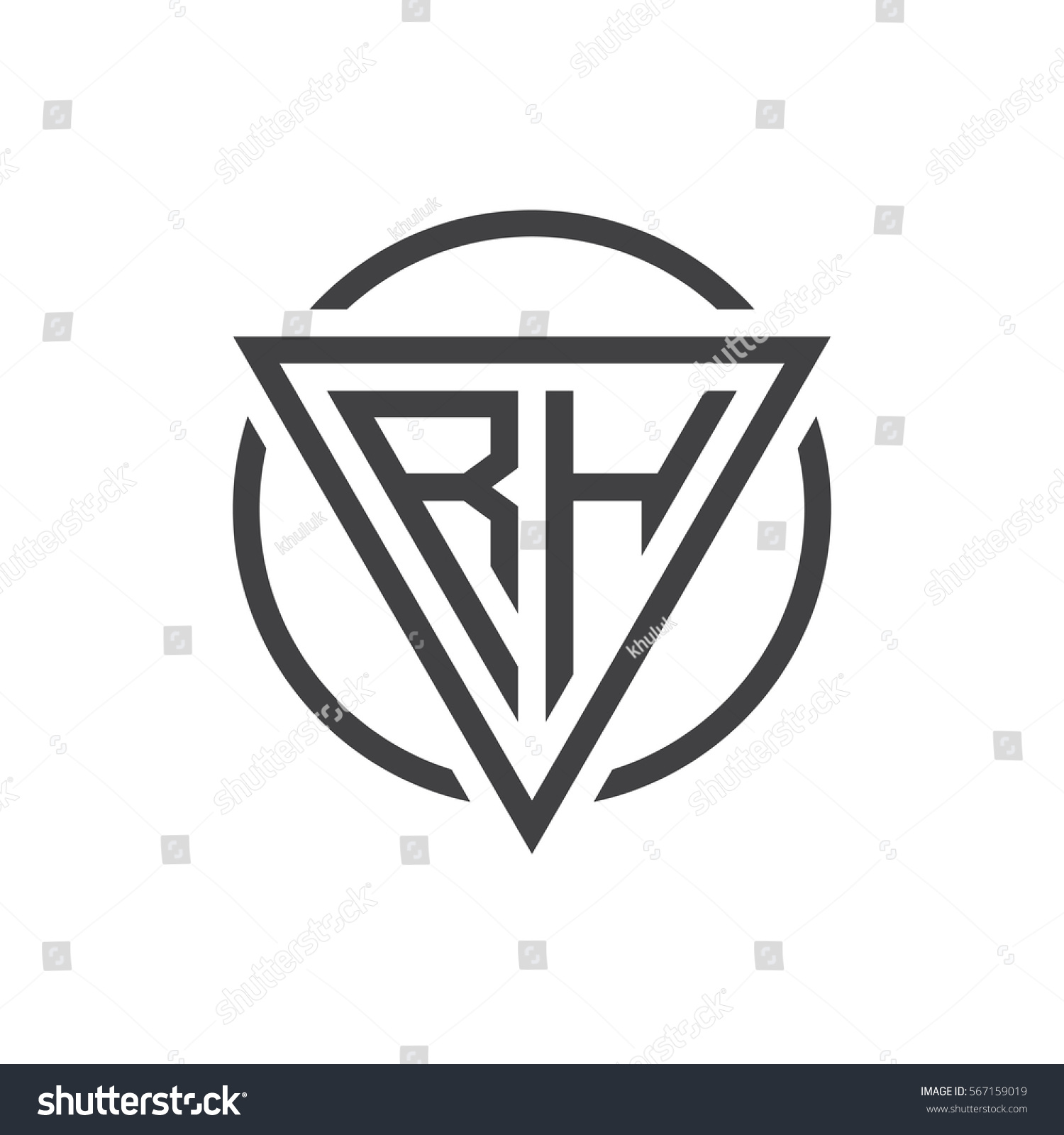 Initial letter logo triangle circle black stock vector 567159019 initial letter logo triangle circle black stock vector 567159019 shutterstock buycottarizona