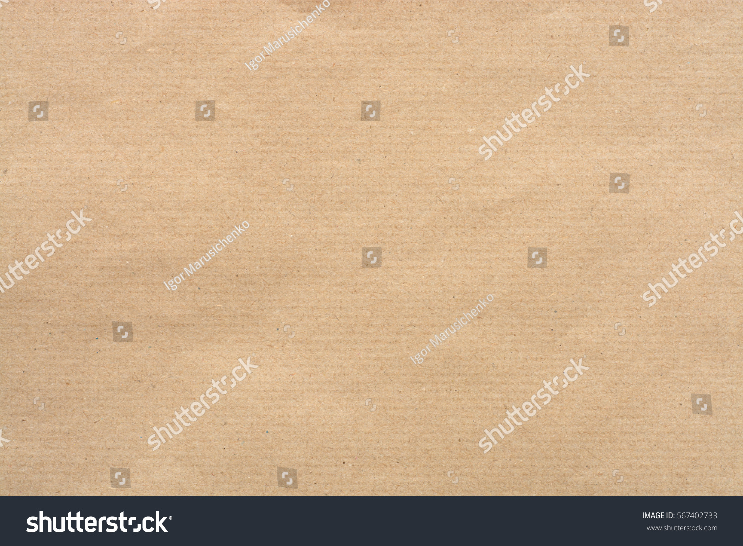 Kraft Paper Texture with horizontal stripes for background. #567402733