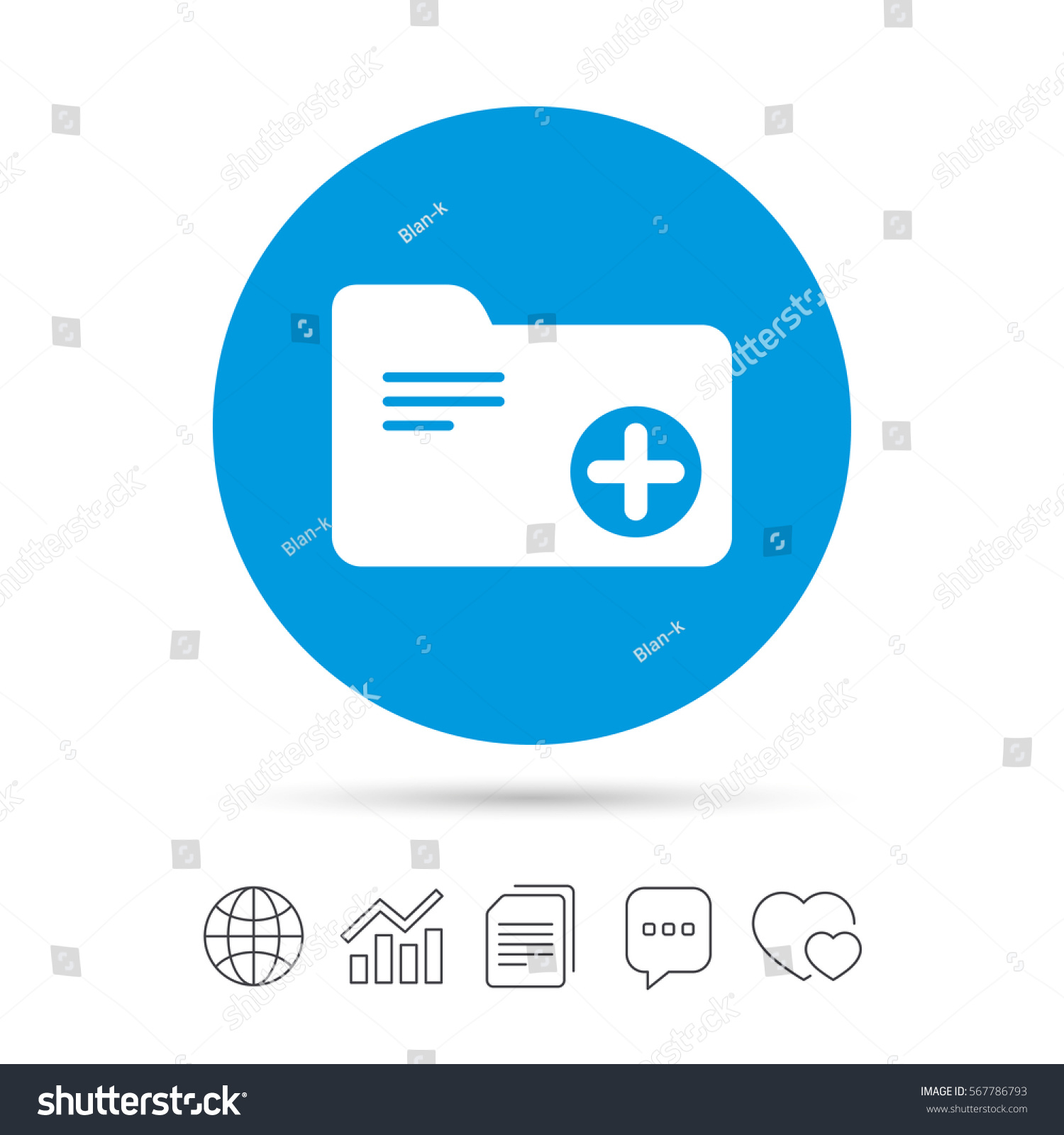 Add document folder sign accounting binder stock vector 567786793 add document folder sign accounting binder symbol bookkeeping management copy files chat ccuart Choice Image