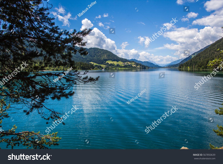 Weissensee in Austria