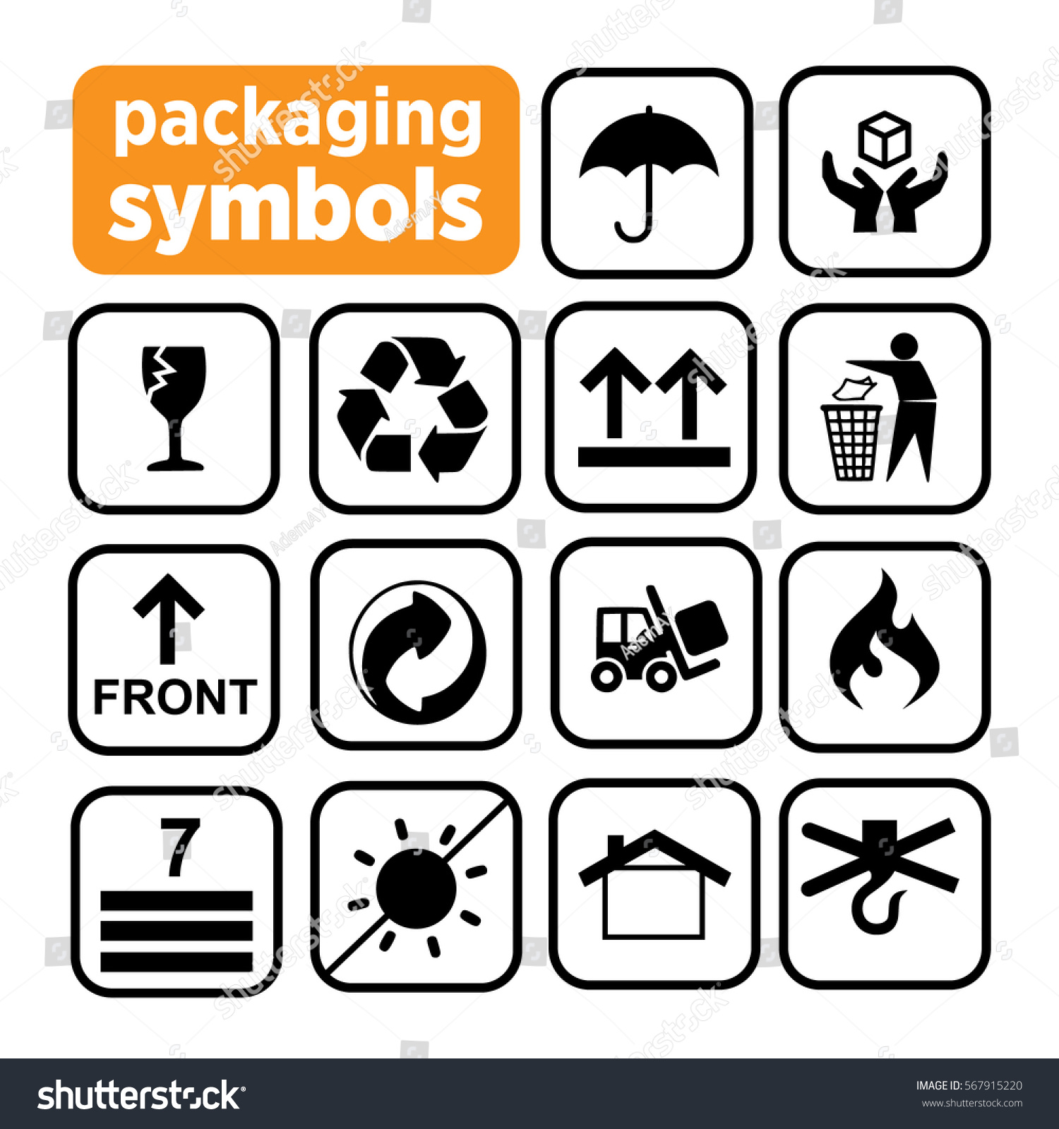 Food packaging symbols gallery symbol and sign ideas packaging symbols recycling icons waste recycling stock vector packaging symbols recycling icons waste recycling buycottarizona gallery buycottarizona Choice Image