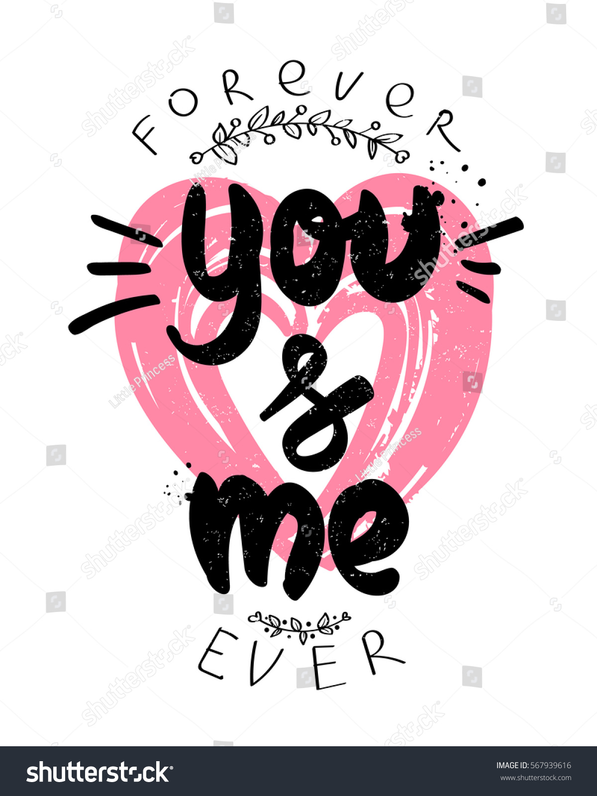 Valentines Day Poster You Me Forever 567939616